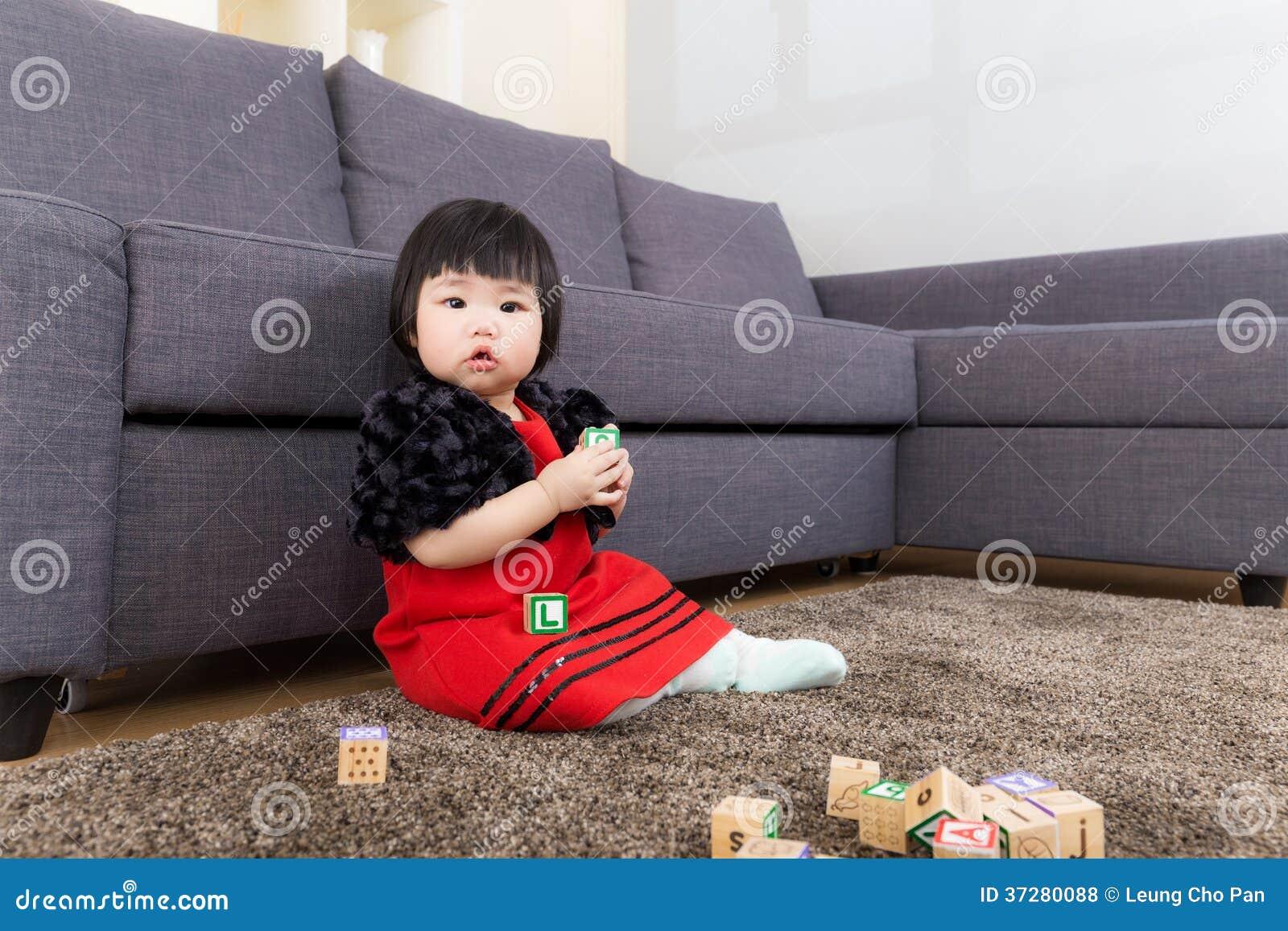 Behandla som ett barn kvarteret för flickalekleksaken
