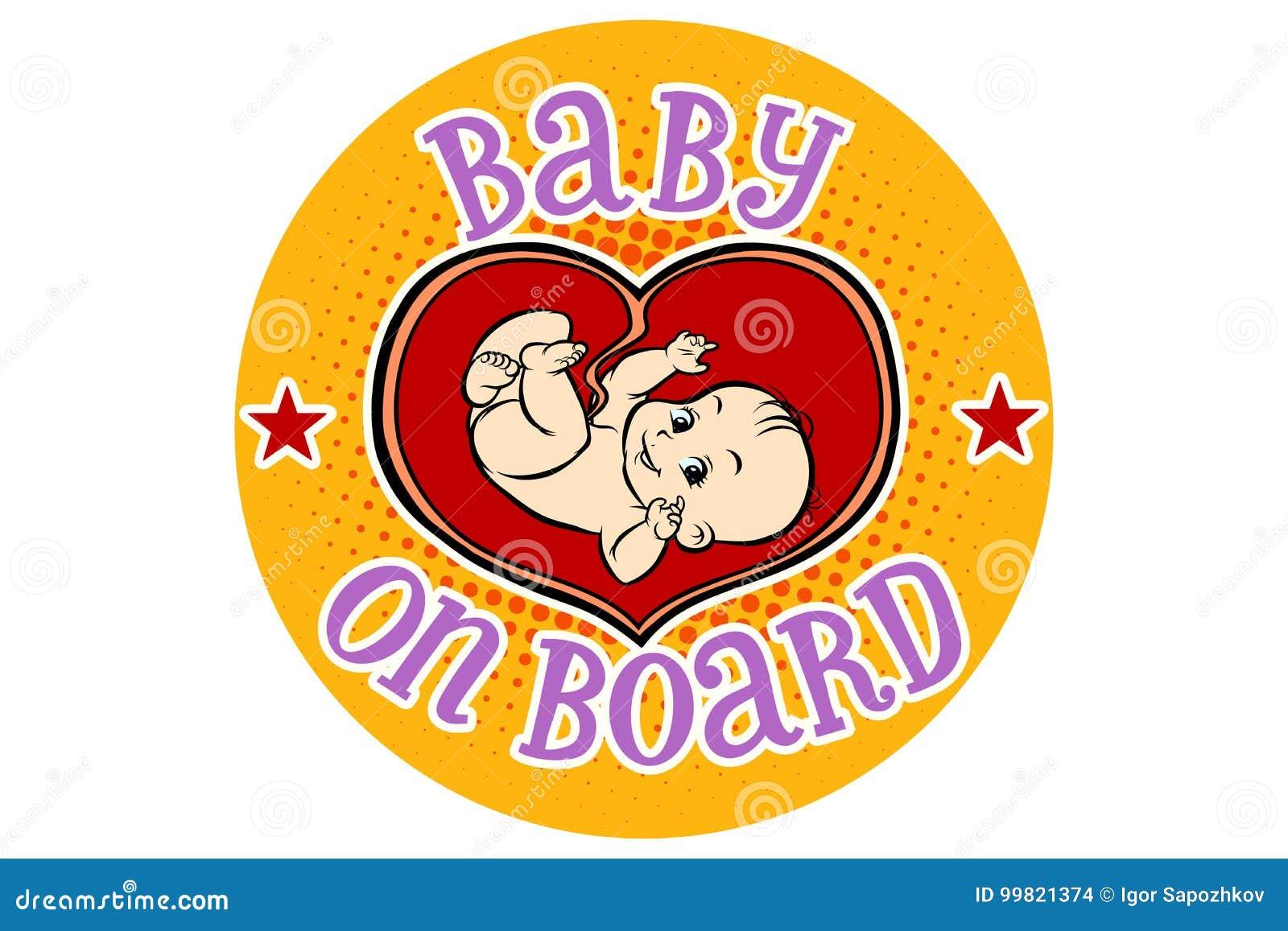 Behandla som ett barn ombord, embryot i skötet