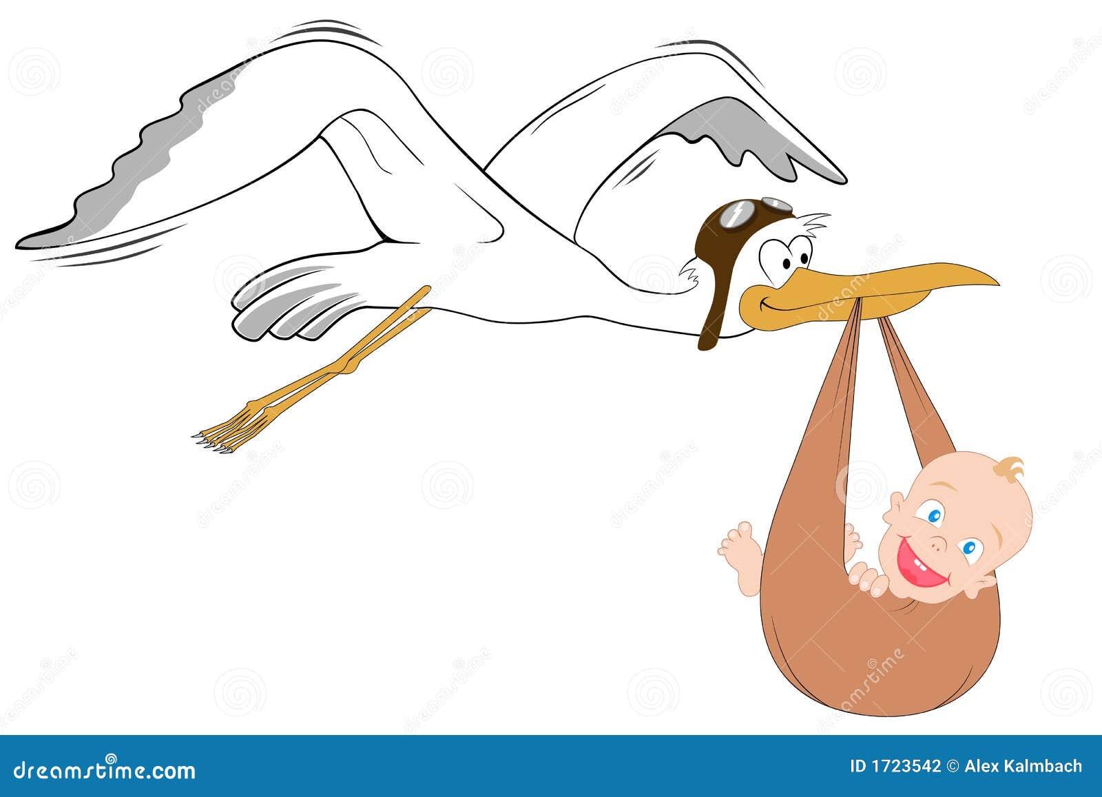 Behandla som ett barn storken