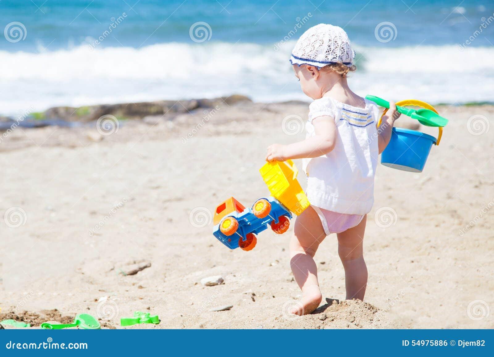 Behandla som ett barn stranden