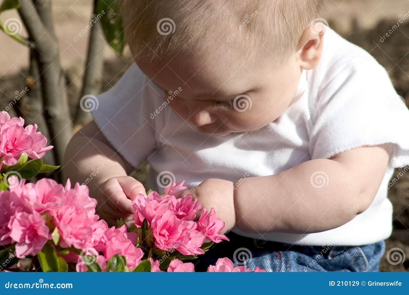 Behandla som ett barn trädgårdsmästaren