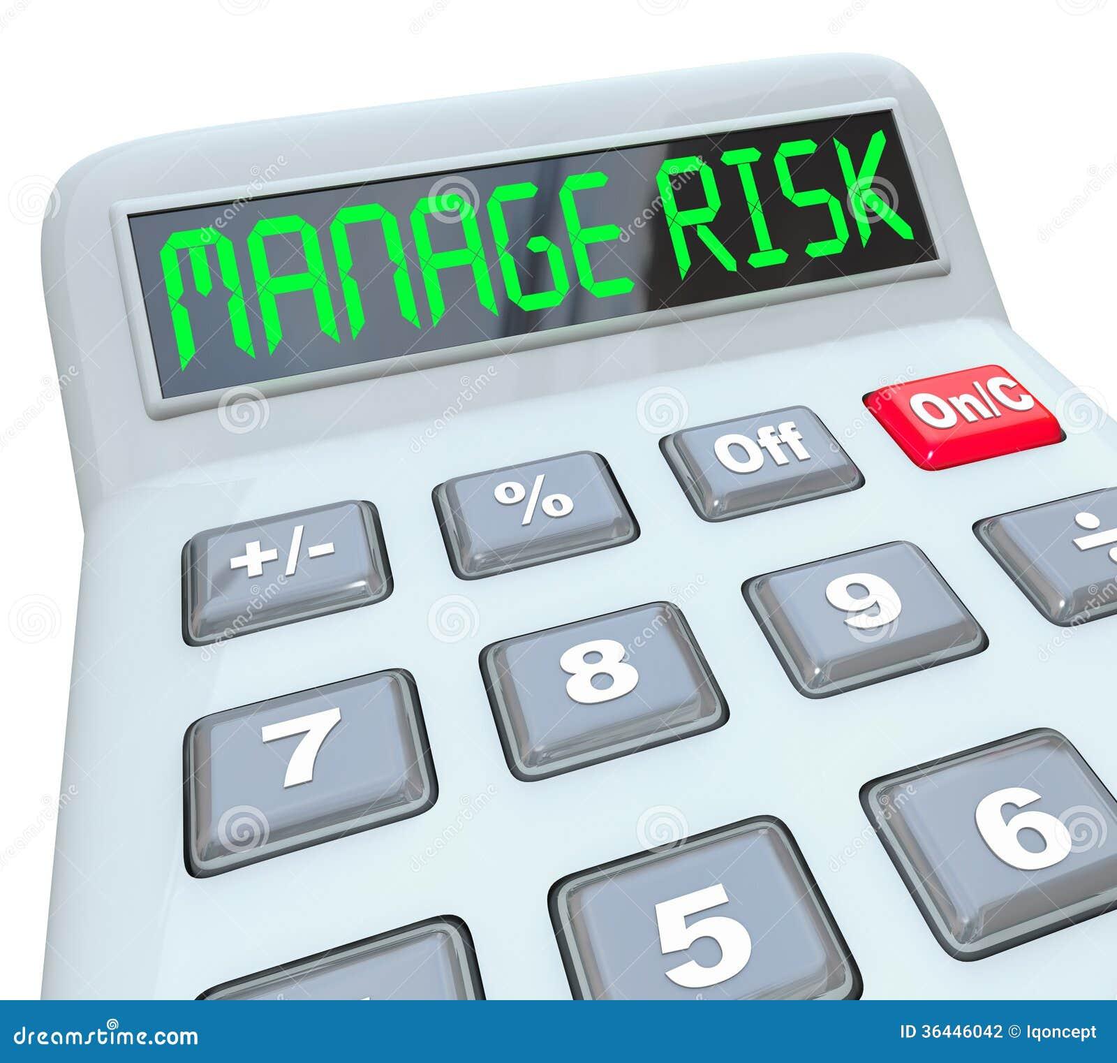 Beheer Uw Controle van het de Nalevingsgeld van de Risicocalculator Financiële
