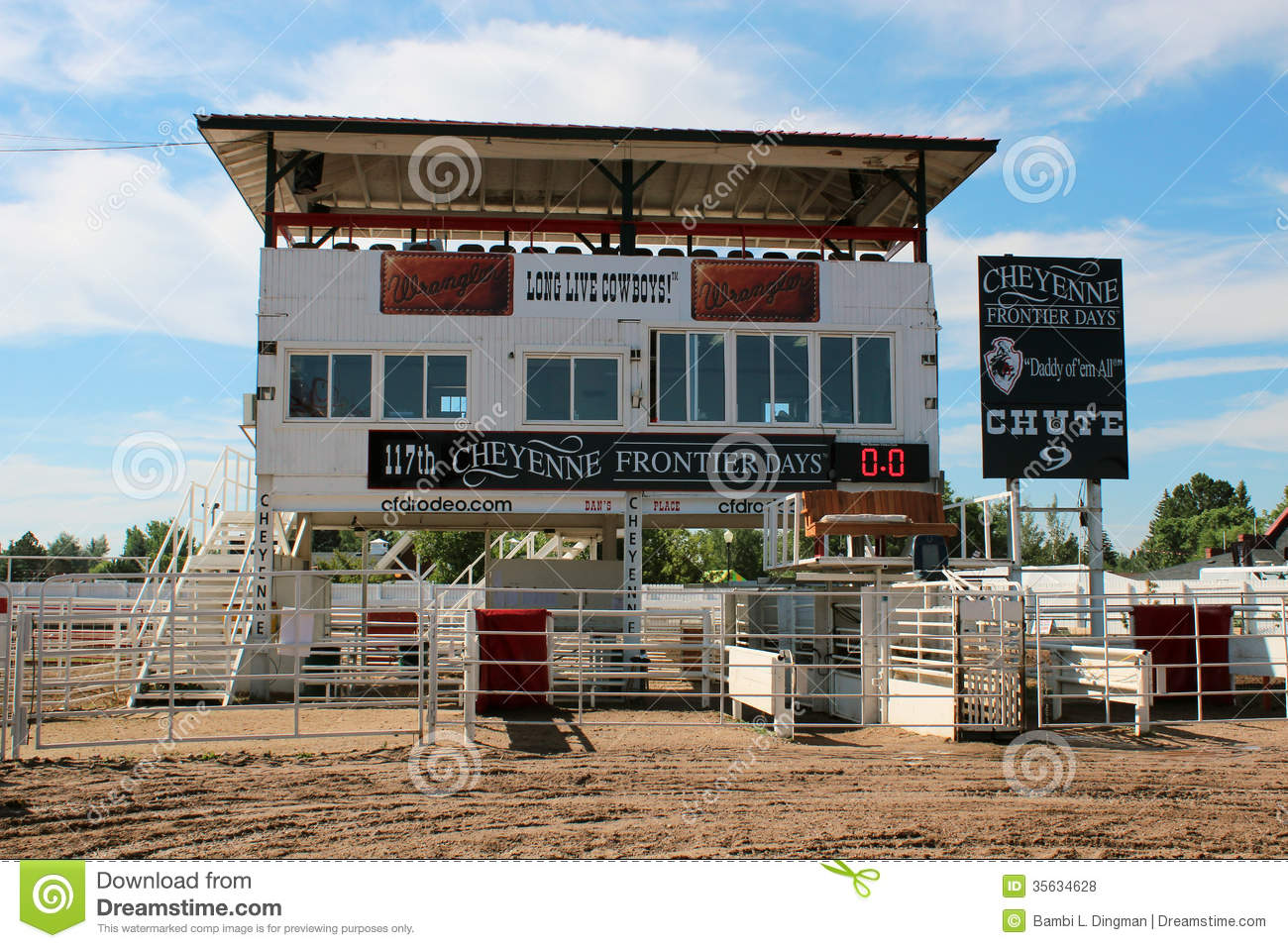 Behind The Chutes Tour Cheyenne Rodeo Days