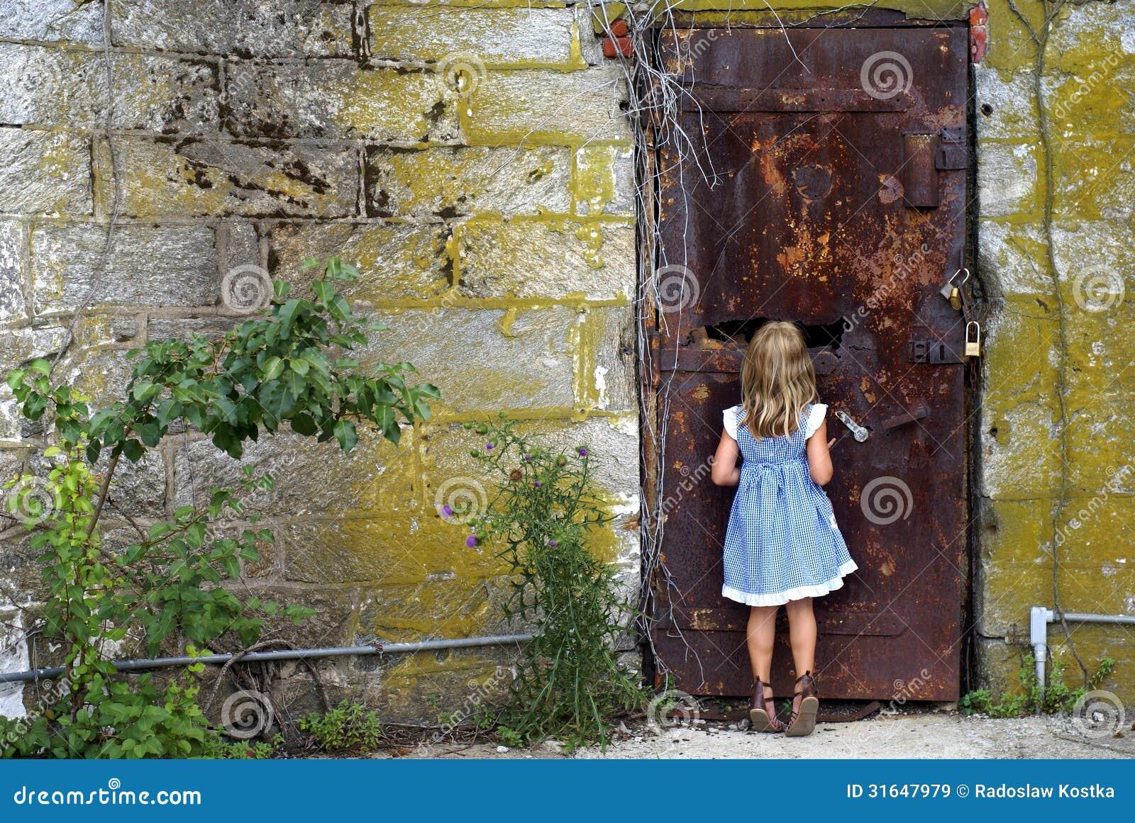 That Is Behind The Door?