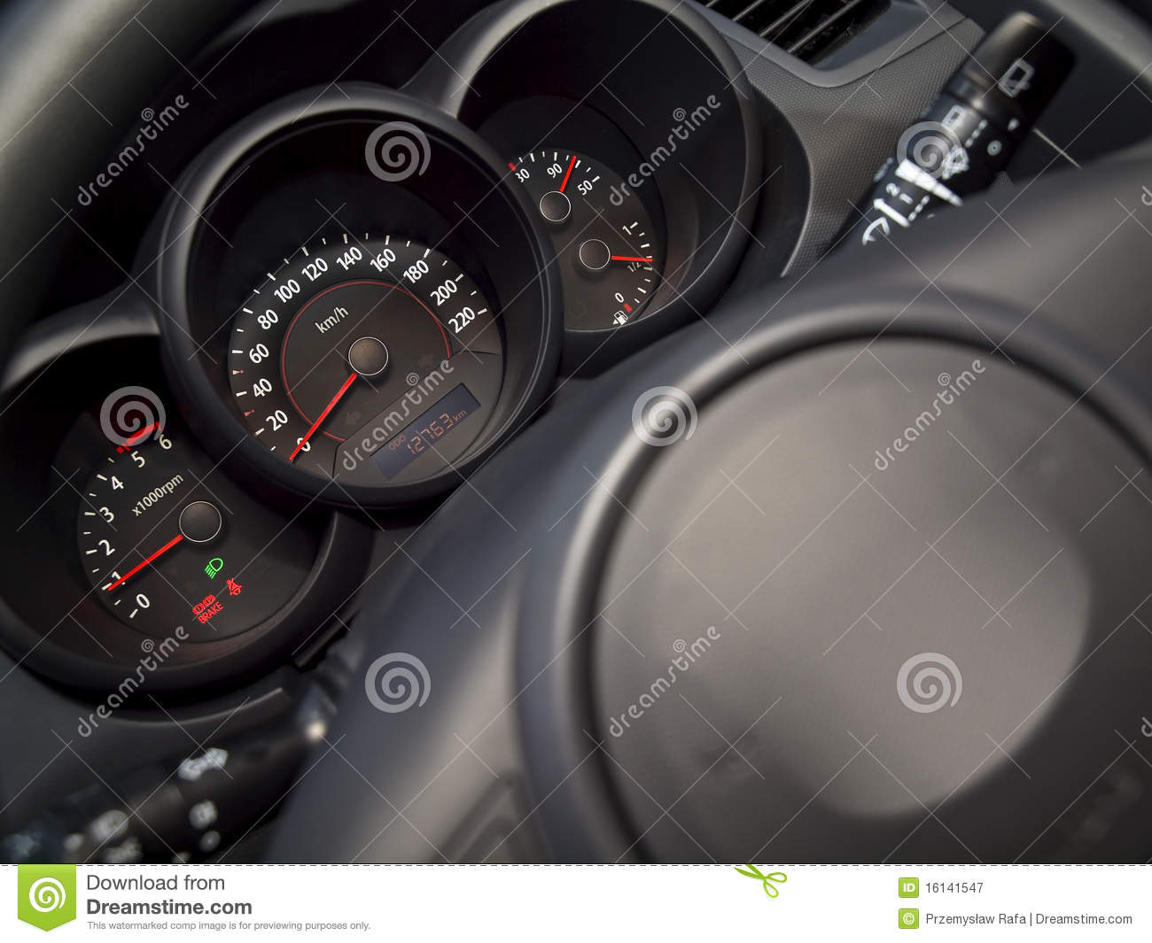 Behind The Steering Wheel : Behind the steering wheel royalty free stock photography