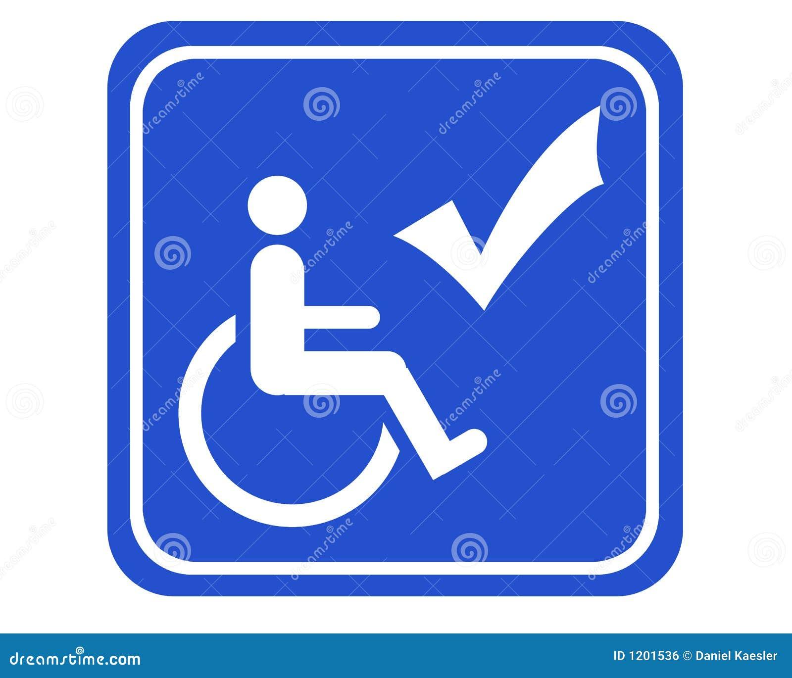 Behindertes zugängliches