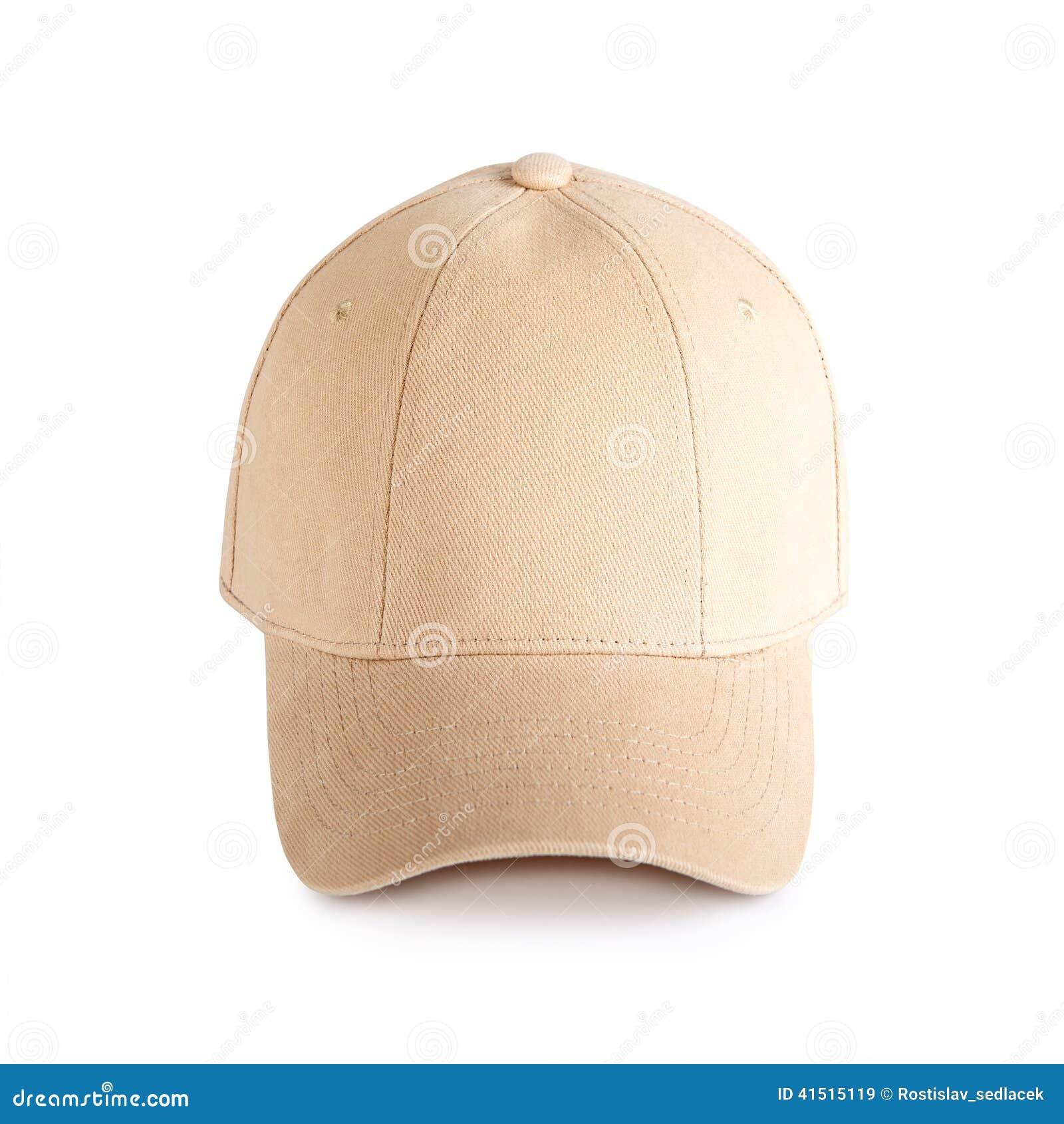 Beige baseball cap stock image. Image of fabric b7ad168d6c8