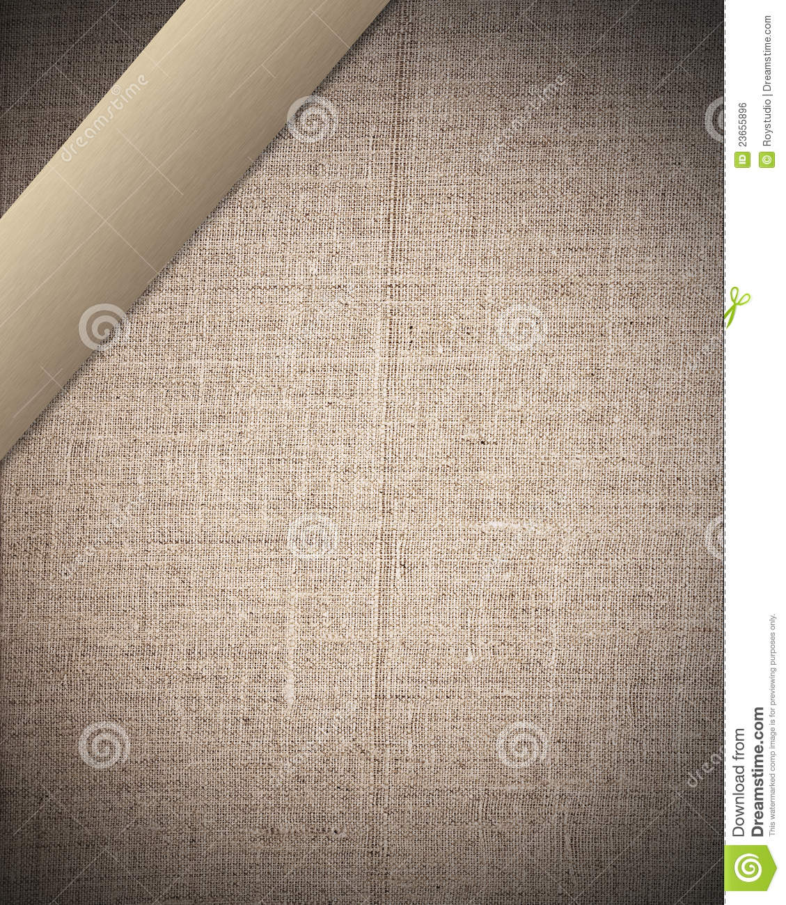 Beige canvas texture with bar
