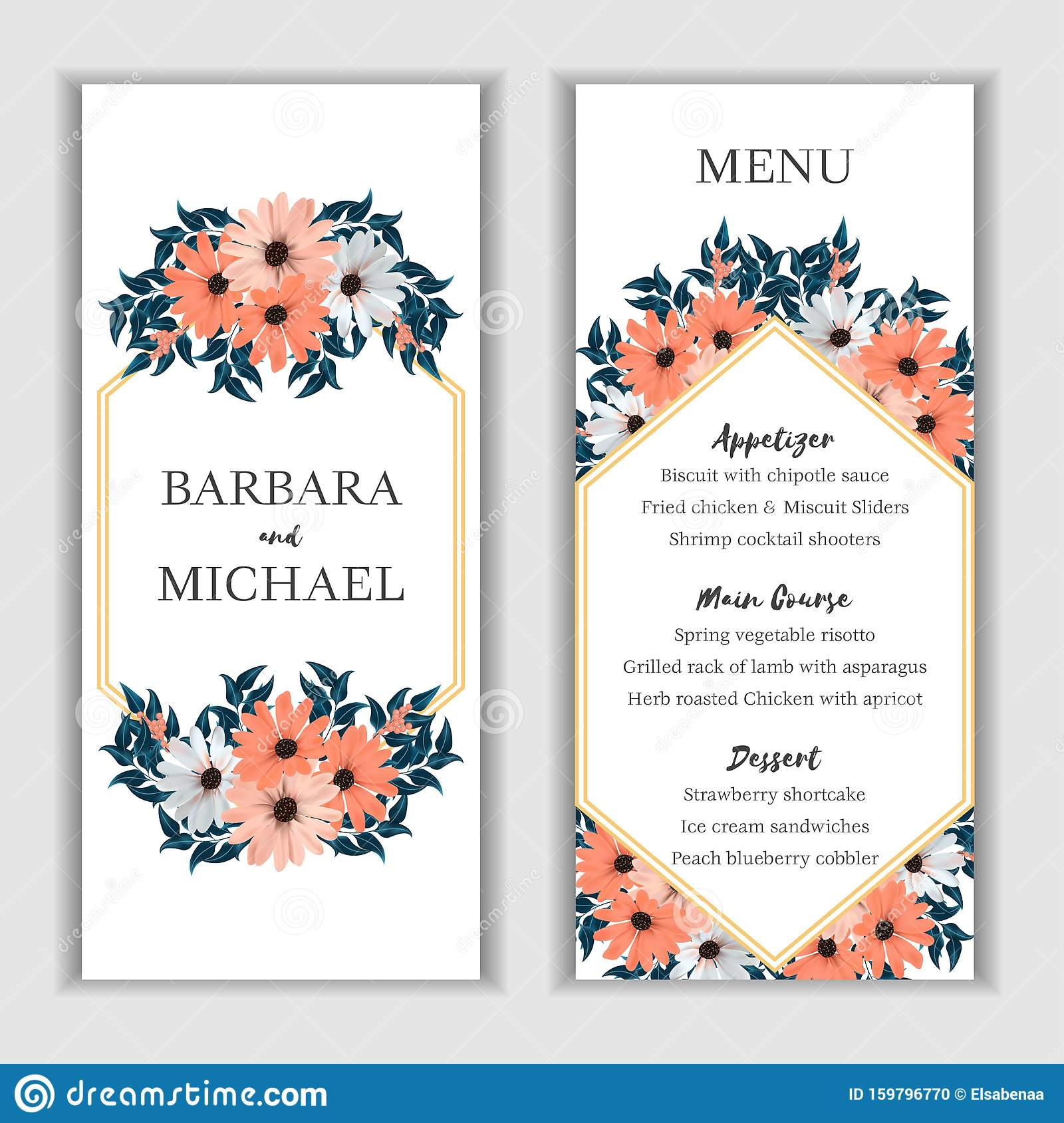 Beige Daisy Floral Wedding Menu Card Template Stock Illustration Illustration Of Card Brown 159796770 Strawberry has brought quite a bit of happiness to daisy until alan had killed strawberry. https www dreamstime com beige daisy floral wedding menu card template bridal menu card template orange white beige daisy flower bouquet decoration image159796770