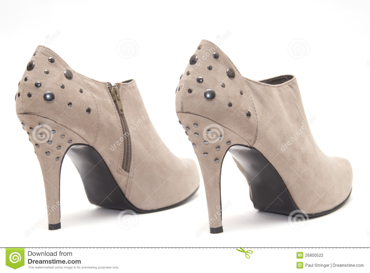 Beige High Heels Stock Photography - Image: 26800522