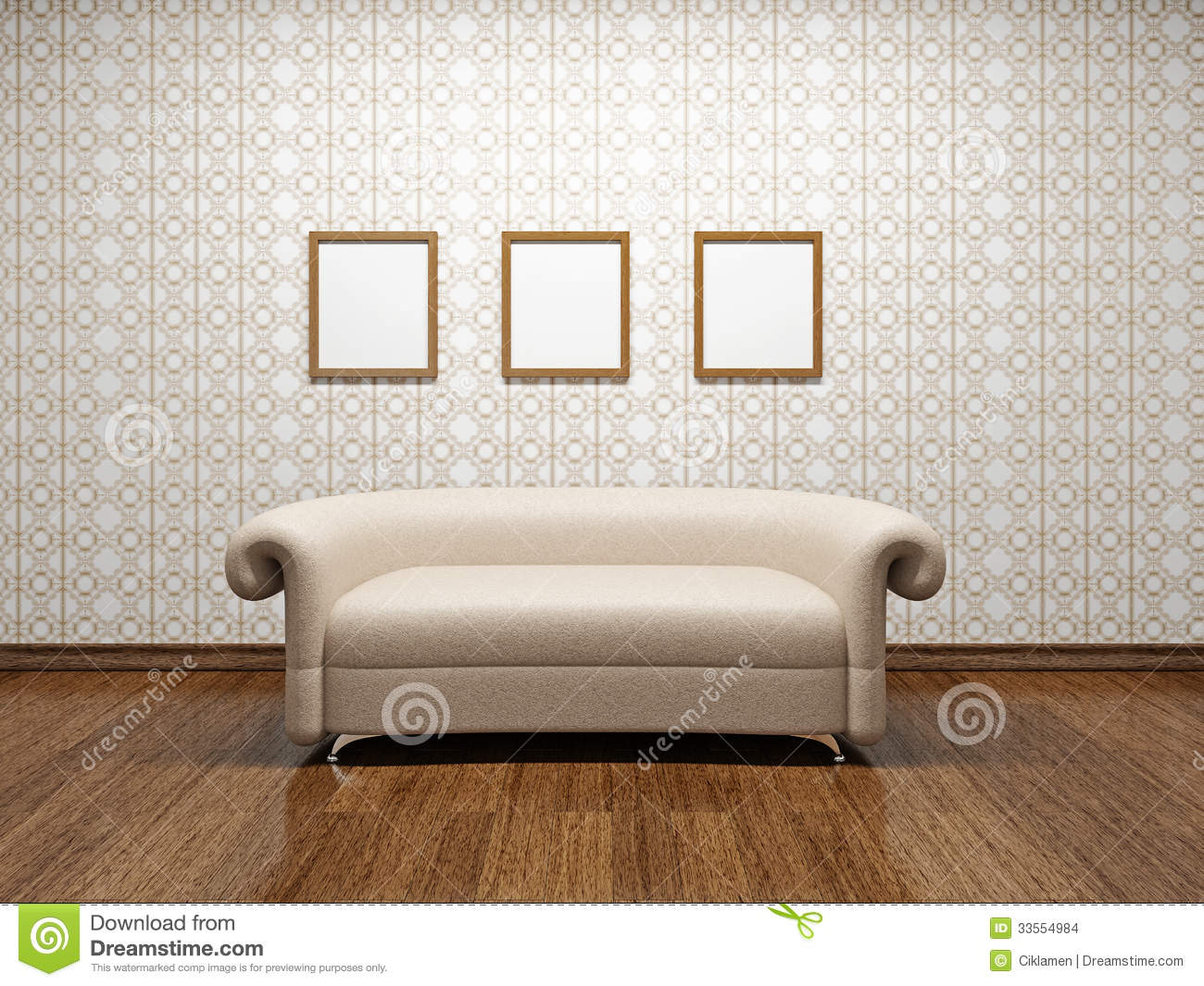 Beige leather sofa stock images image 33554984 - Sofa color for beige wall ...