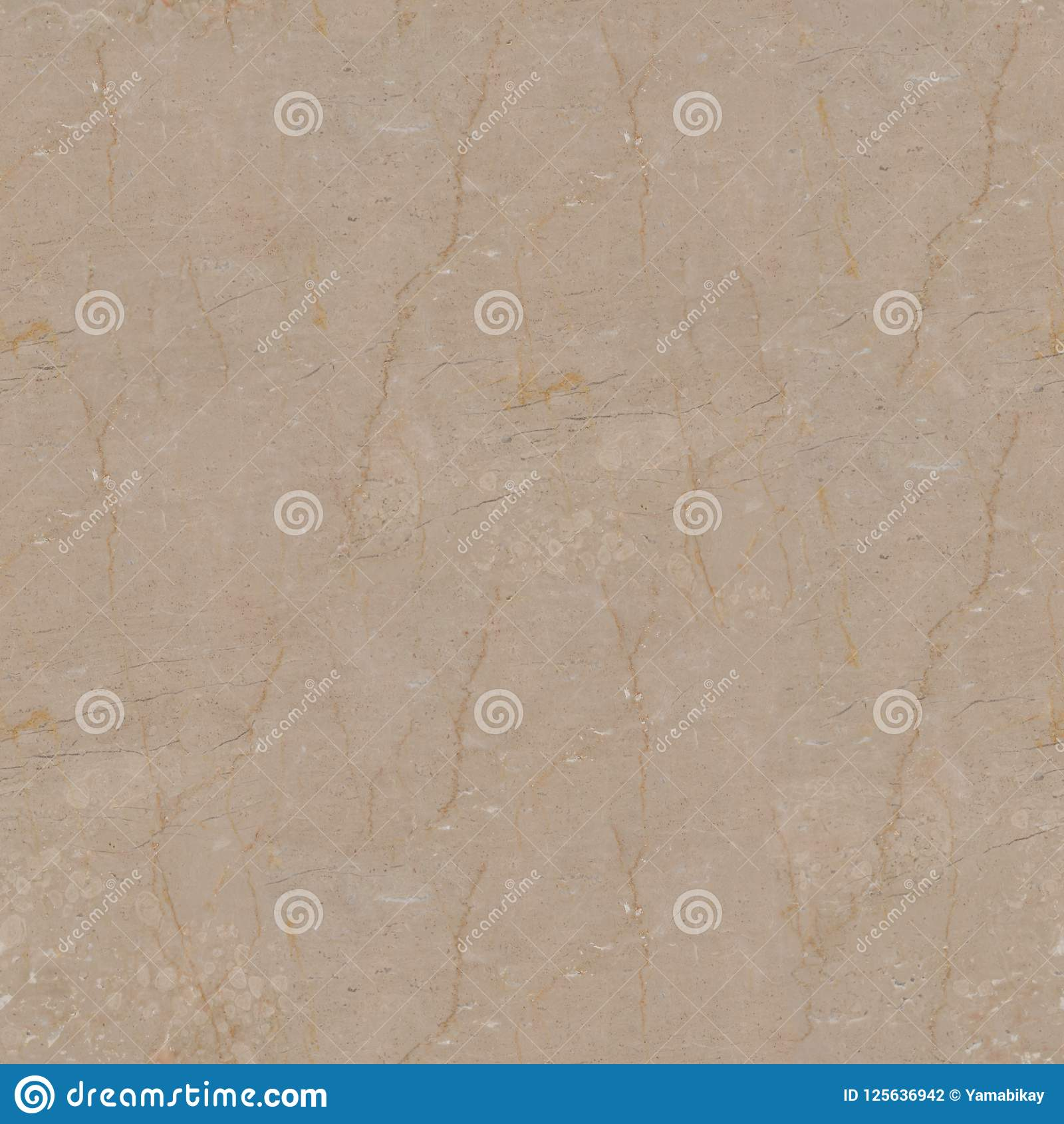 Beige Marble Texture Seamless Square Background Tile Ready