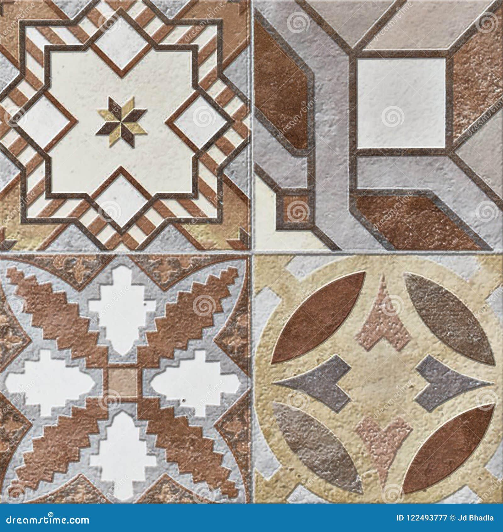 Rustic Beige Wall Mosaic Design Beautiful Mosaic Decor Tiles High