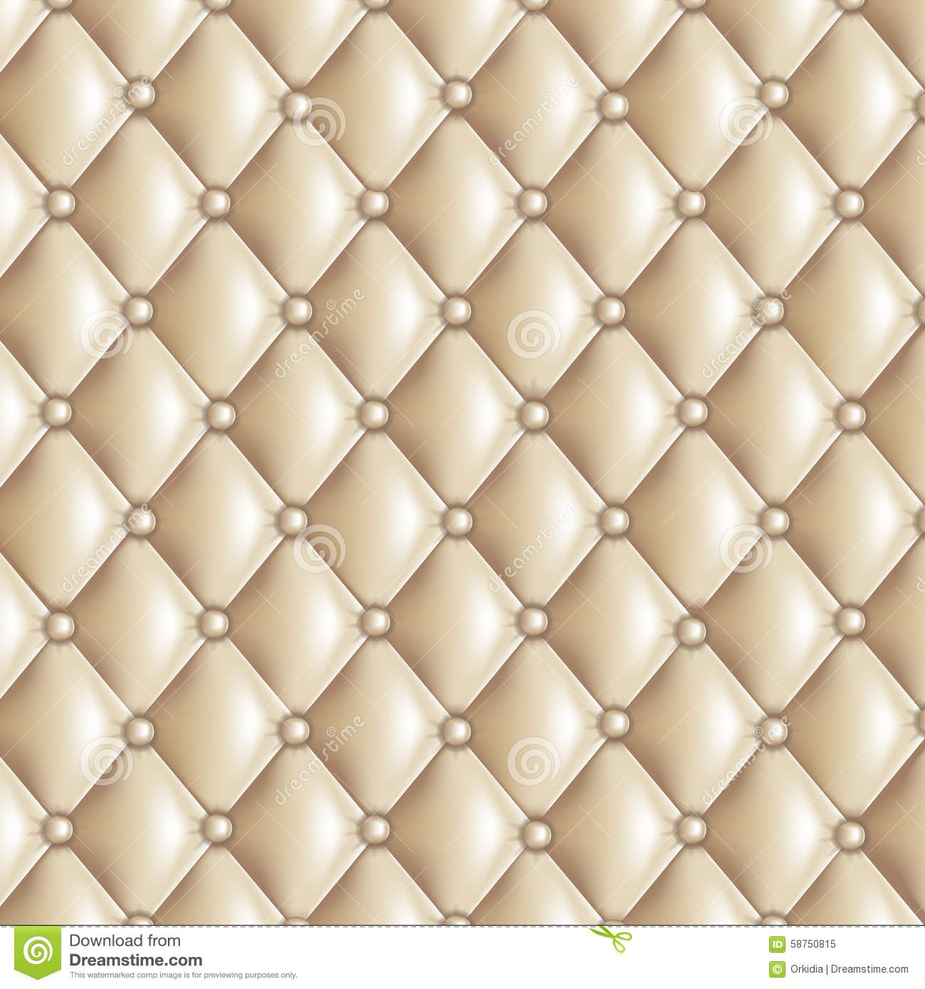 Beige Quilted Texture Stock Vector Image Of