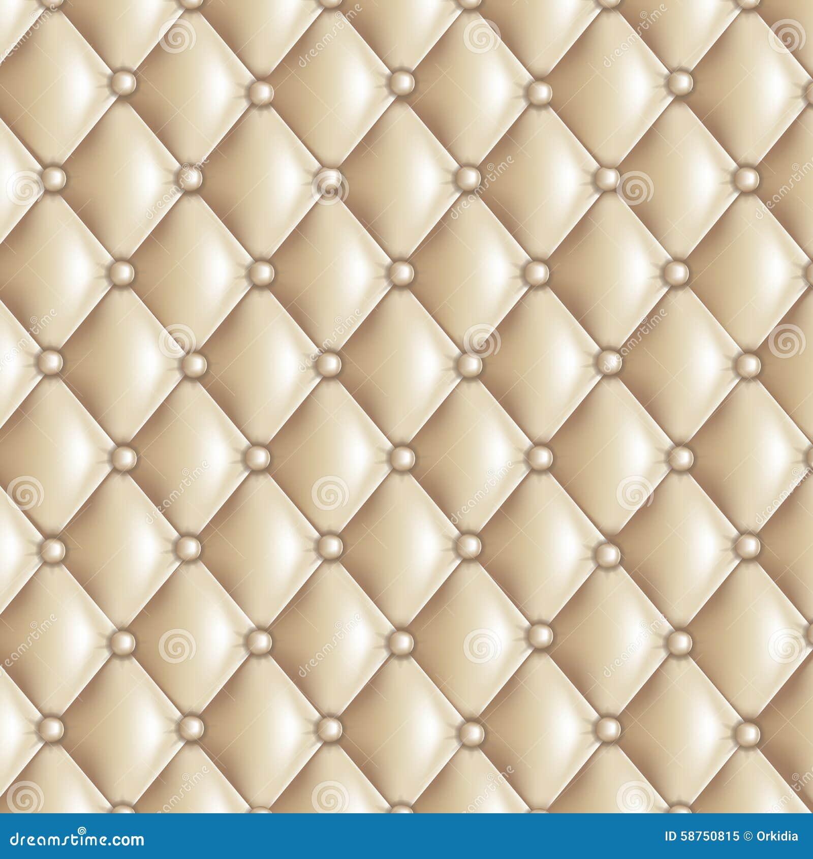 Beige Quilted Texture Stock Vector Image 58750815