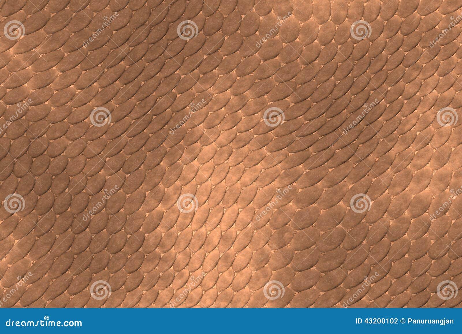 Download Beige Texturerad Reptilhud För Bakgrund Stock Illustrationer - Illustration av scales, design: 43200102