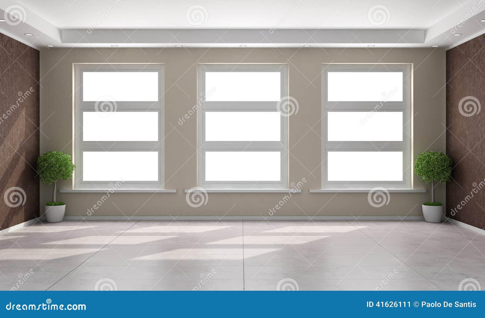 Download Beige Und Braunes Wohnzimmer Stock Abbildung   Illustration Von  Wand, Braun: 41626111
