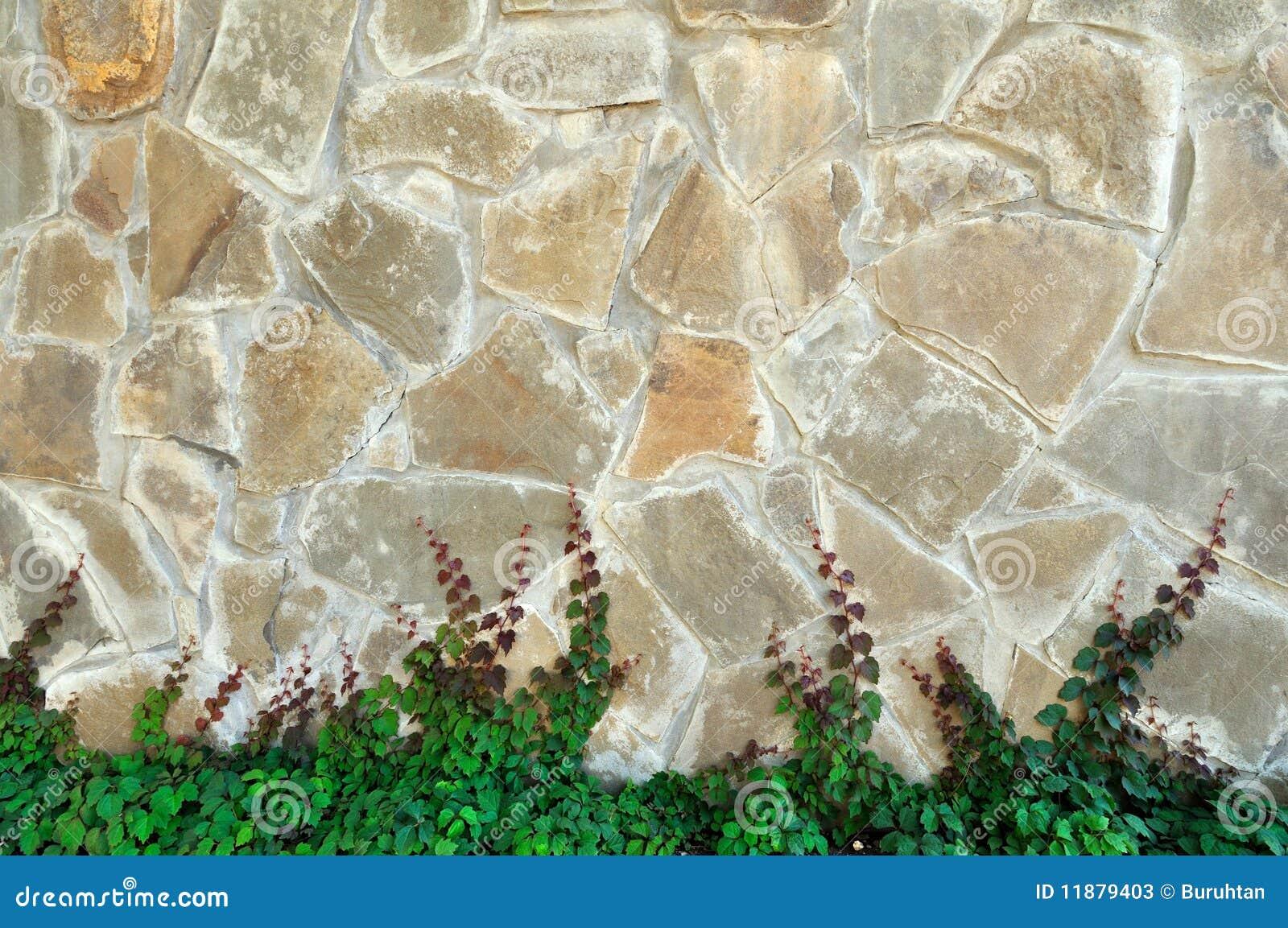 beige wand hergestellt mit gealtertem stein stockbild bild von dunkel grau 11879403. Black Bedroom Furniture Sets. Home Design Ideas
