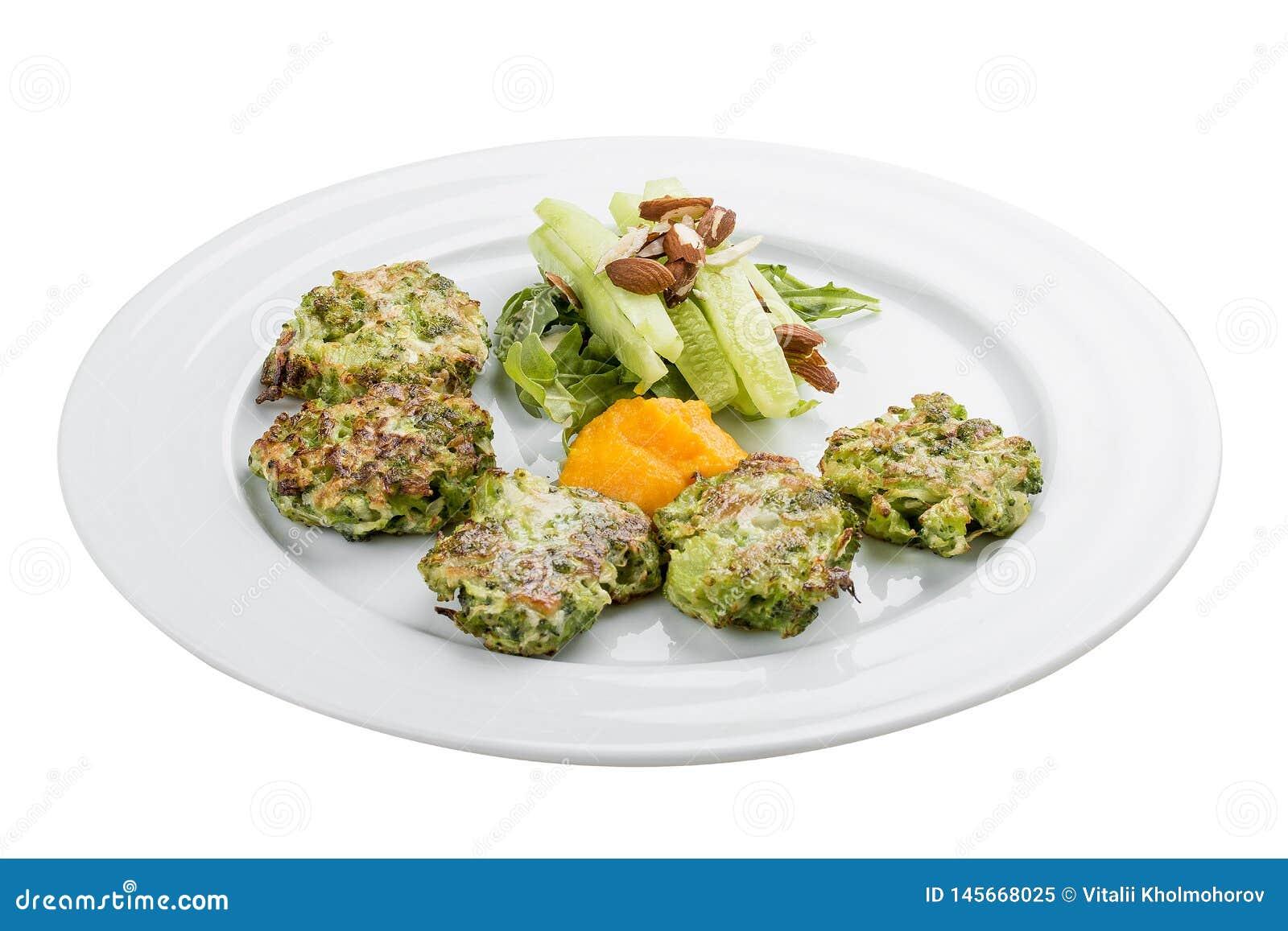 Beignet De Brocolis Au Four beignets de brocoli image stock. image du crêpe, crêpes