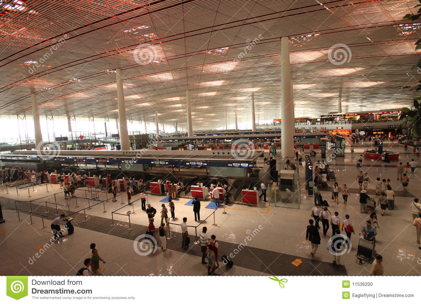 Beijing Capital Airport. Terminal 3 (T3)