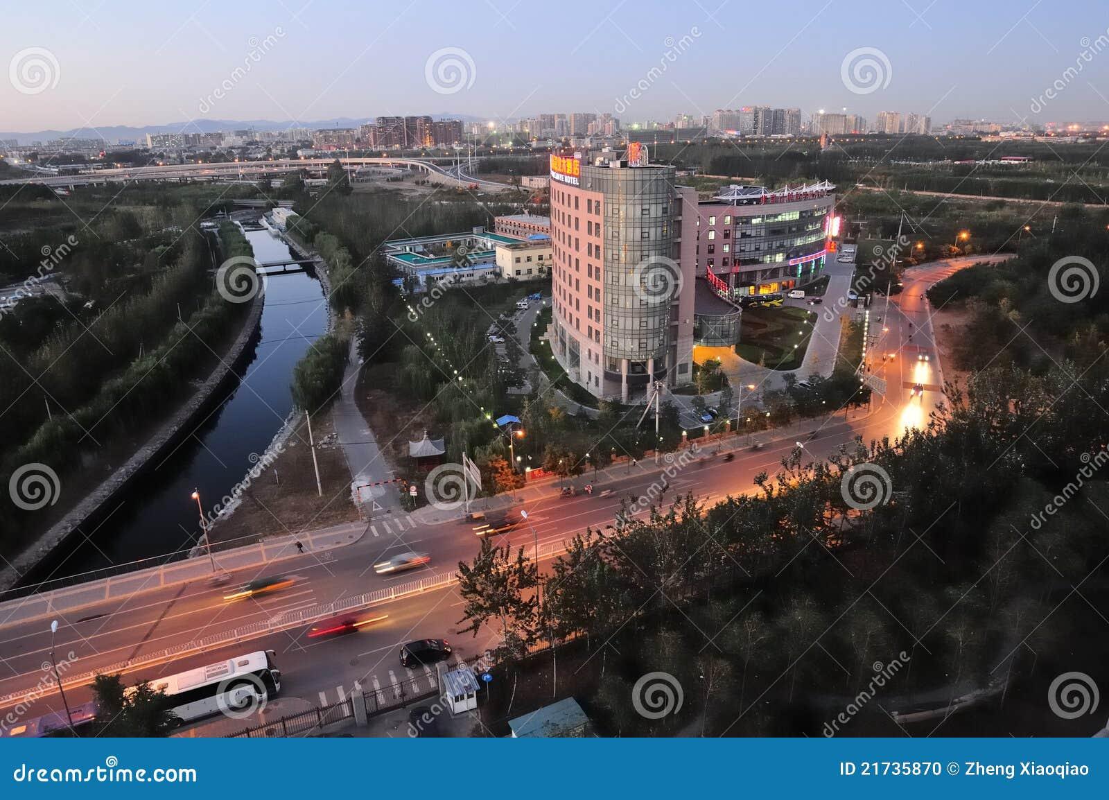 Beijing city view
