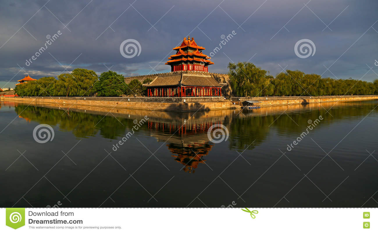 Download Beijing Forbidden City Turret Stock Photo - Image of color, city: 79455062