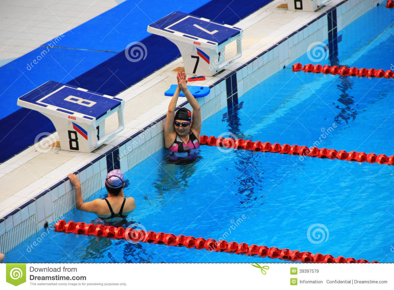 Beijing 2008 olympic swimming pool stock photos 67 images for Beijing swimming pool olympics