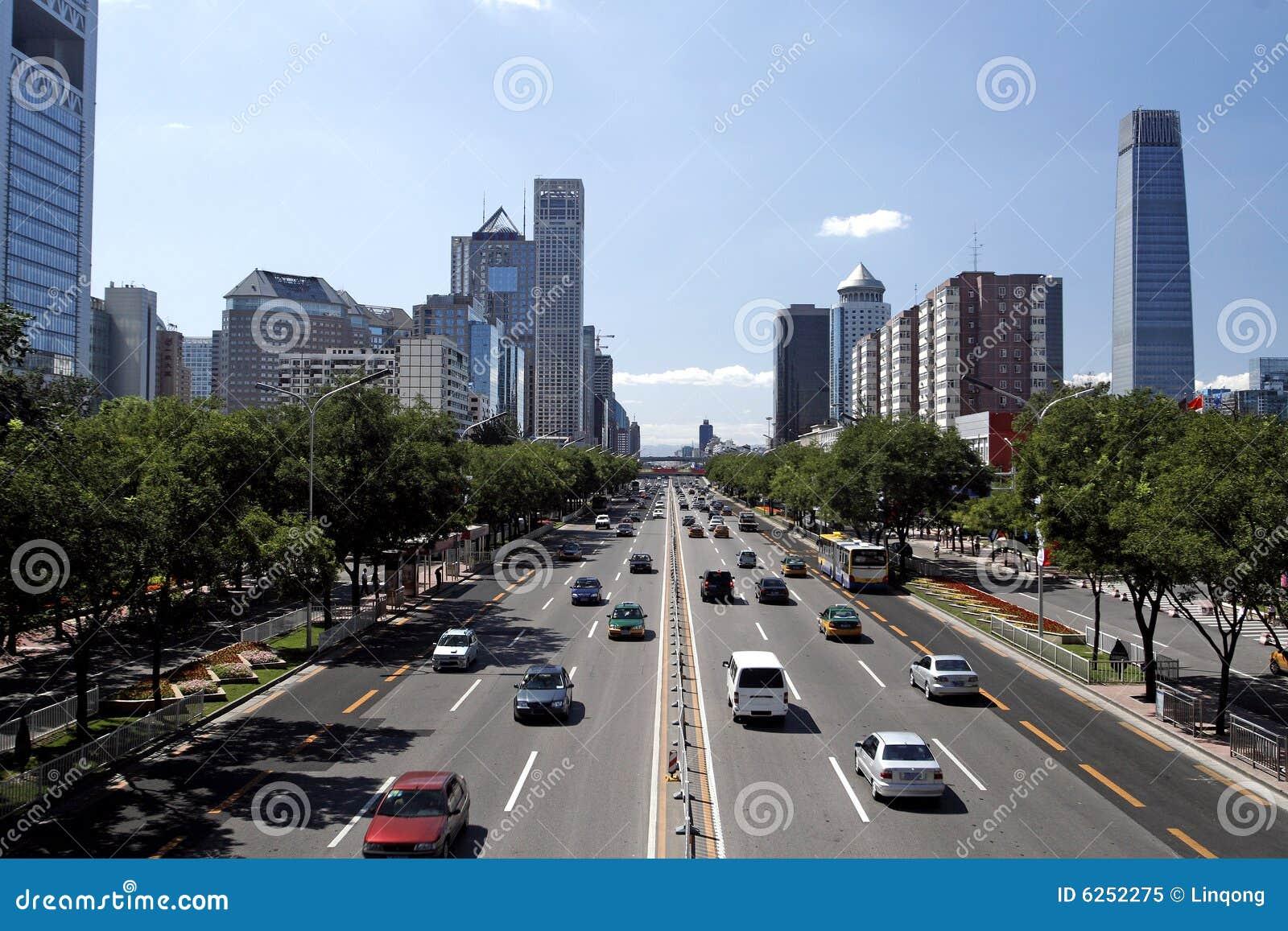 Car Building Games >> Beijing's Urban Streetscape Stock Image - Image: 6252275