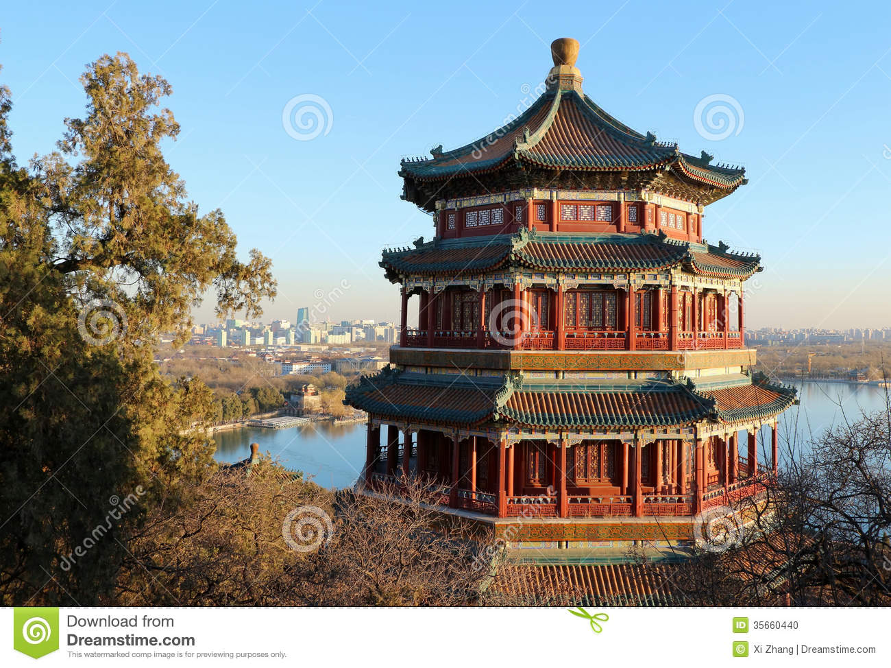 The Summer Palace is the most famous emperor garden in china.