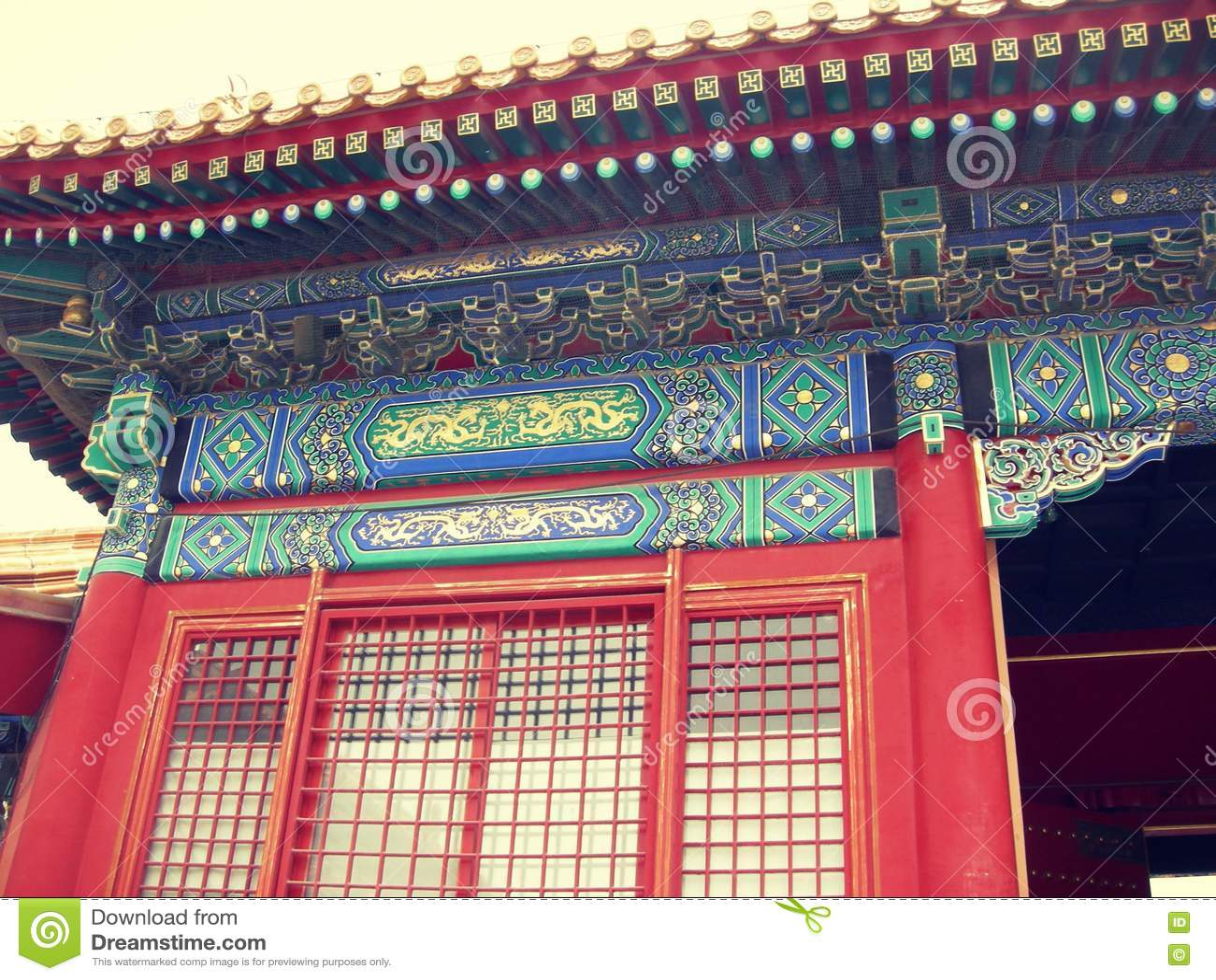 Beijing summer palace pavilions halls