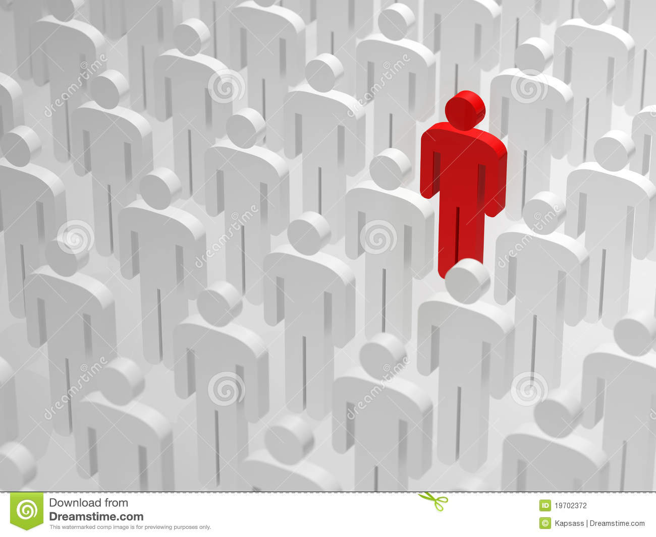 Being different and standing out from the crowd