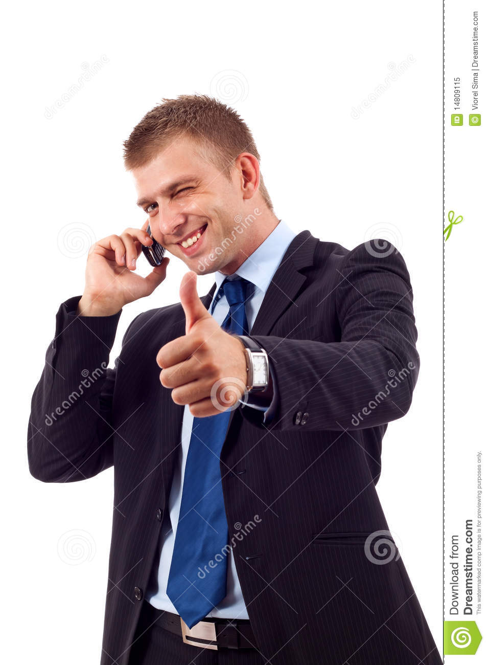 Being Positive On phone
