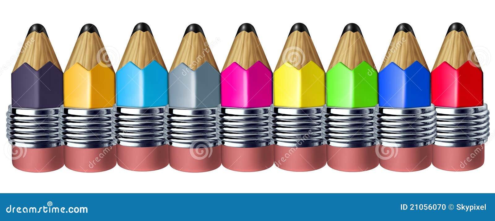 Beira bonito do lápis