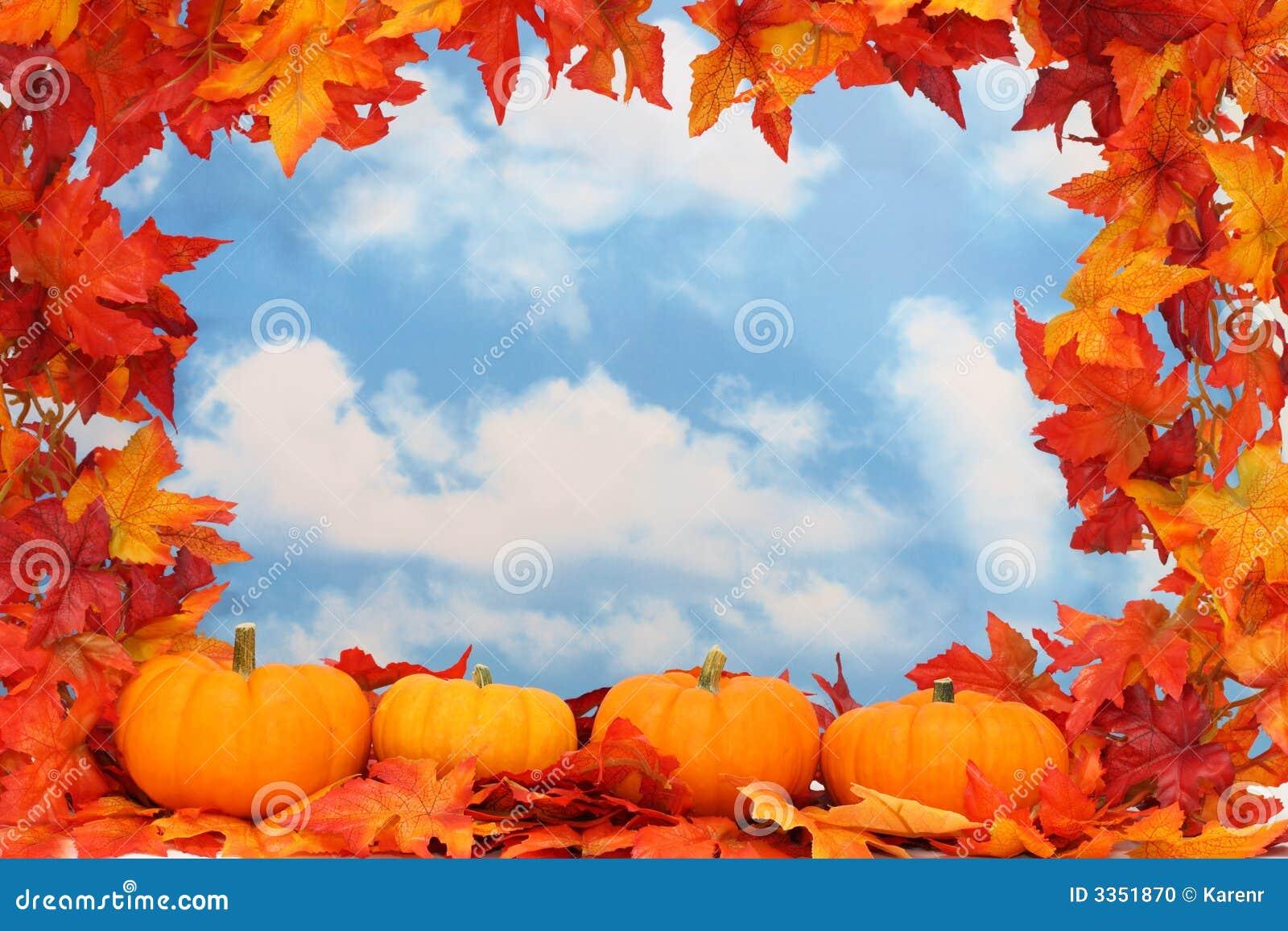 Beira da colheita do outono