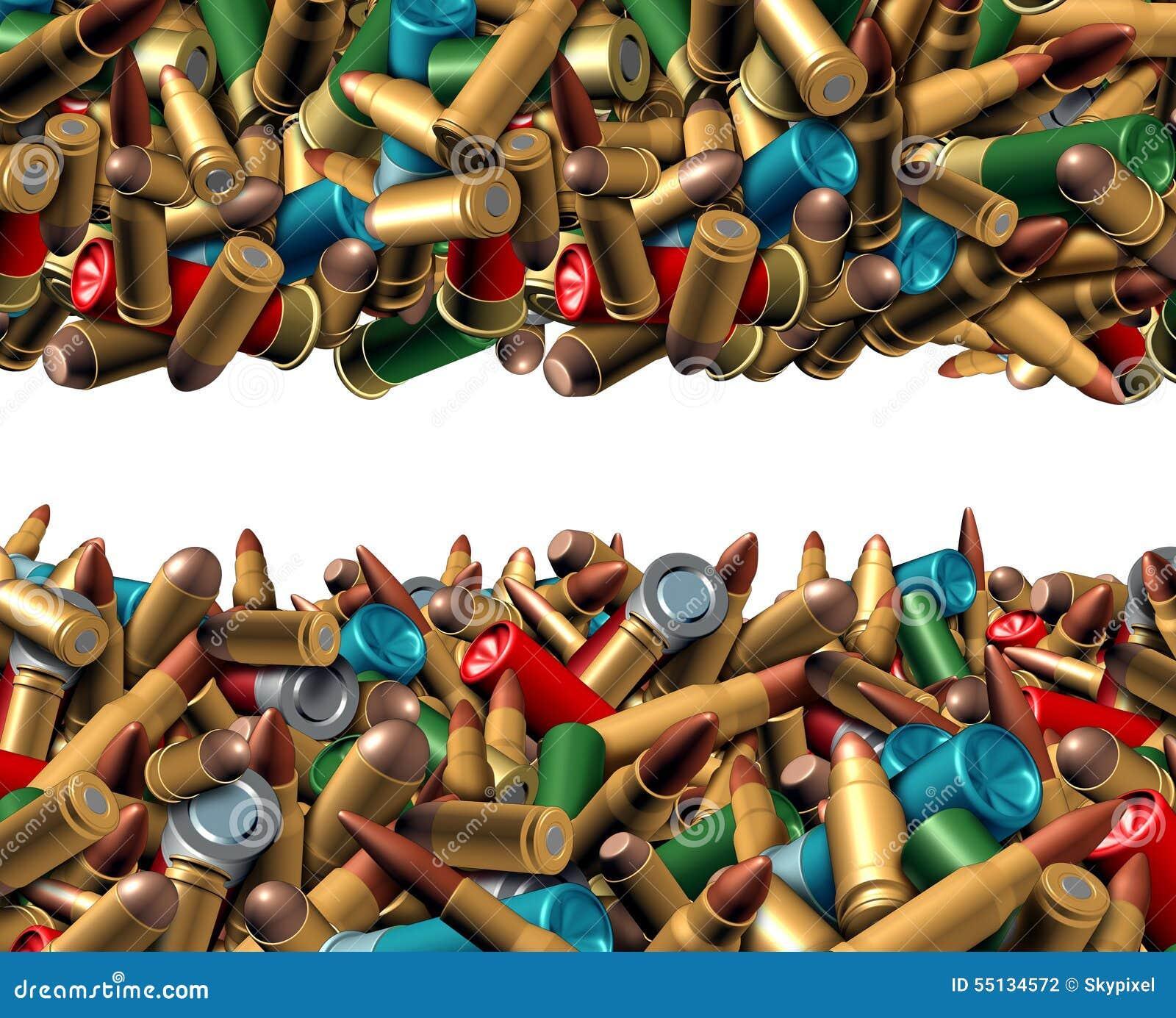 Beira da munição da bala