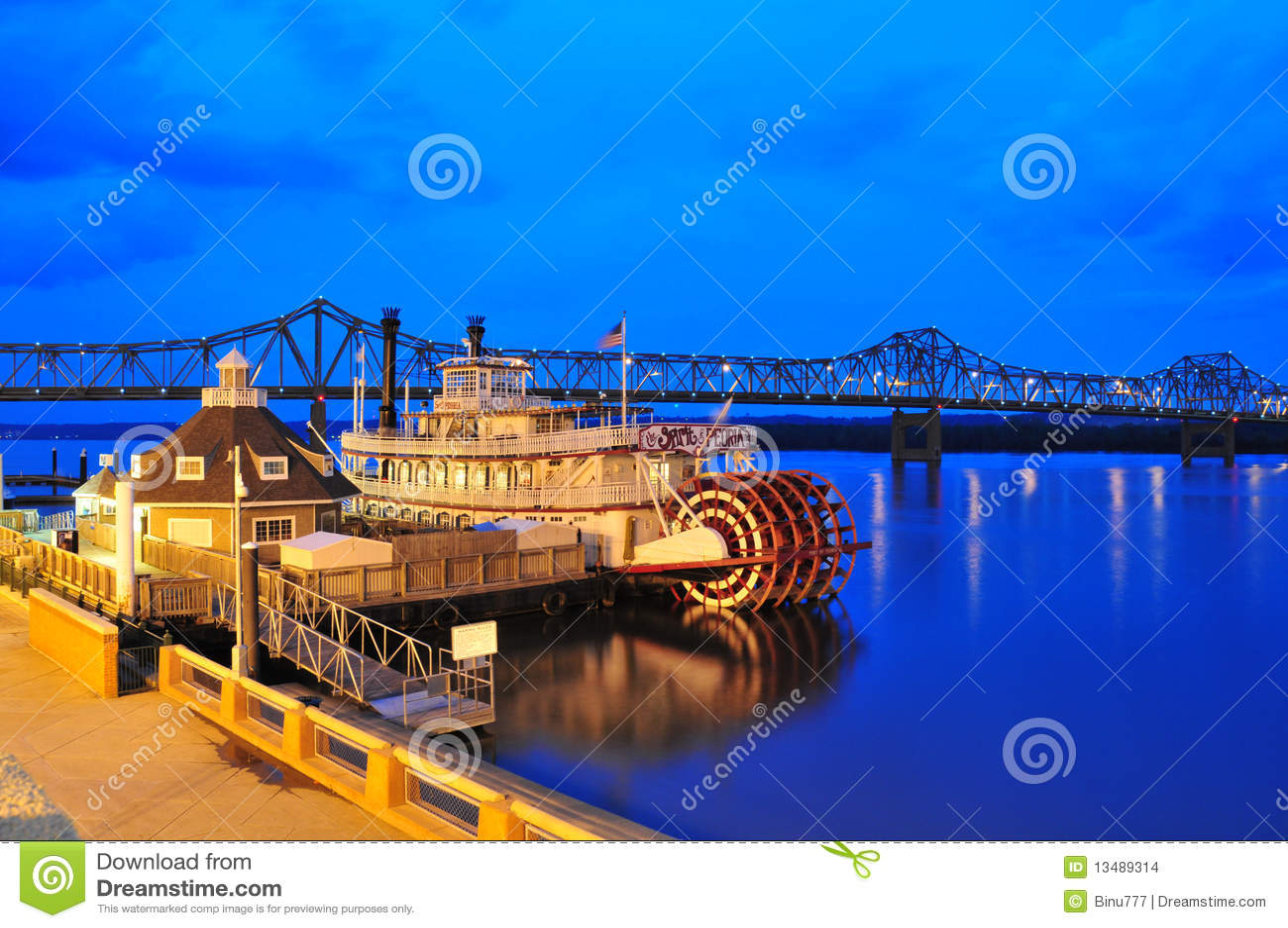Beira-rio de Peoria - Steamboat