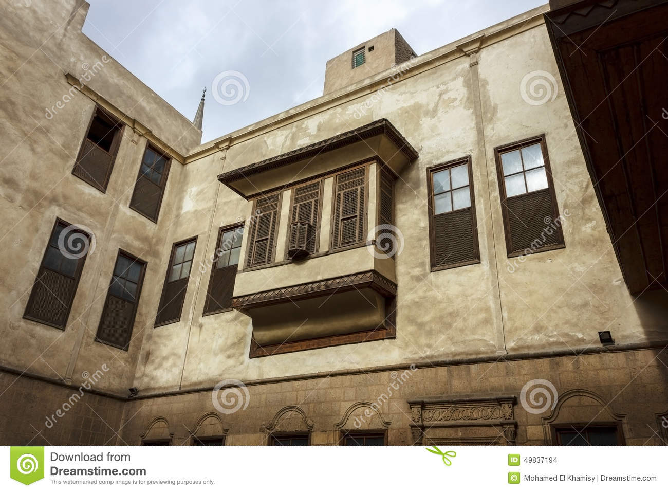 Beit As-Suhaymi,Typical House In Islamic Cairo Stock Photo ...