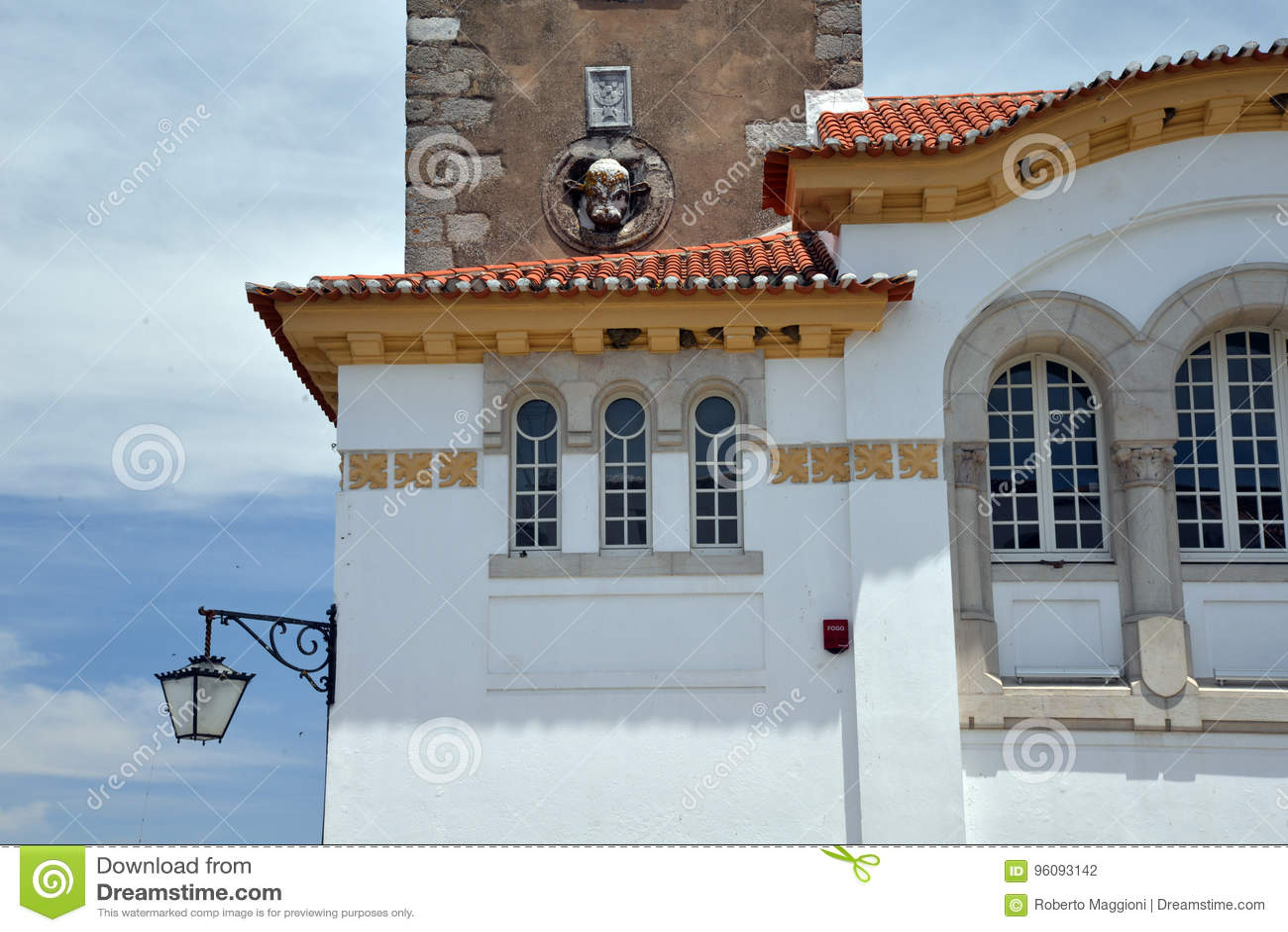 Beja, Alentejo, Portugal Traditionelle Architektur