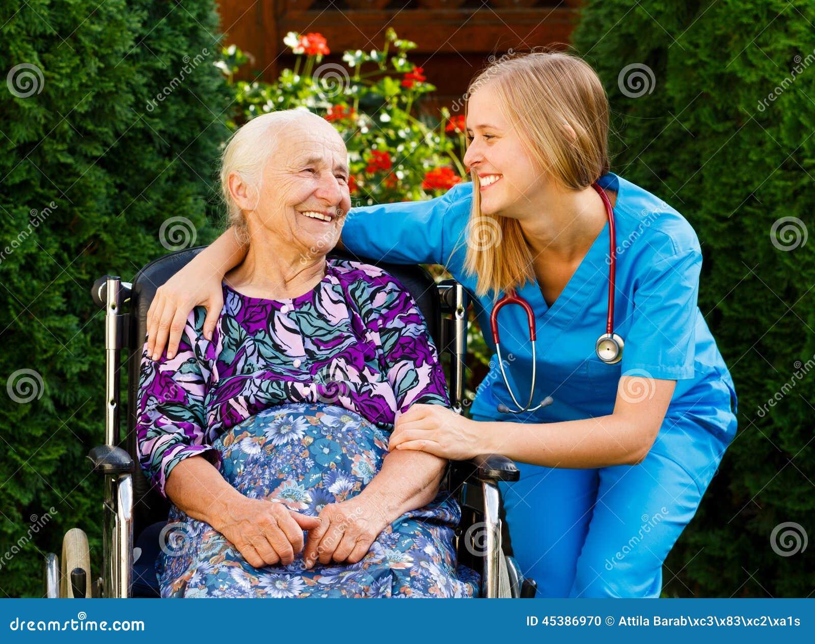 Bejaarde huiszorg