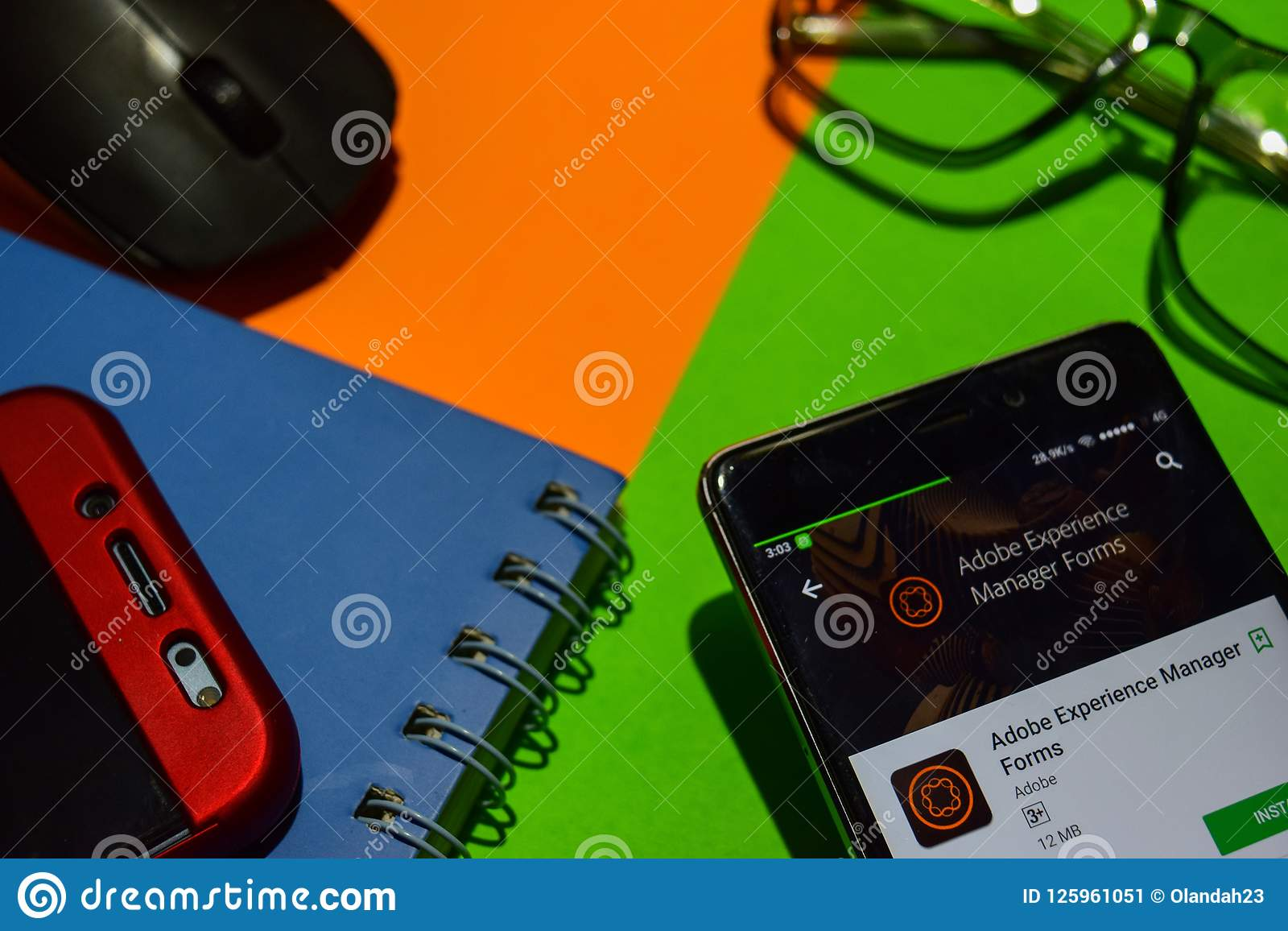 Adobe Experience Manager Forms Dev App On Smartphone Screen