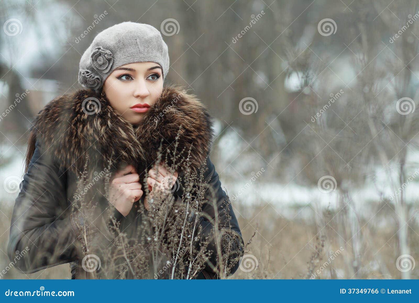 Bekymrad kvinna