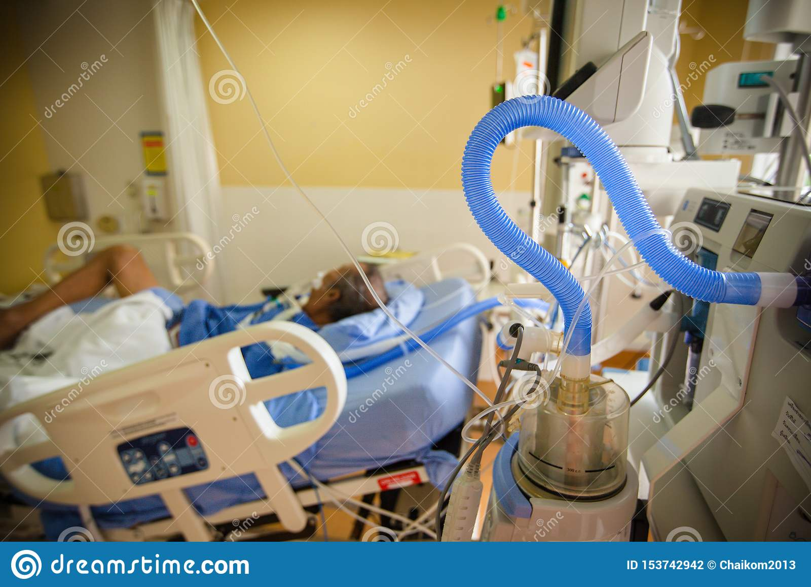Belüftungseinheit der künstlichen Lunge