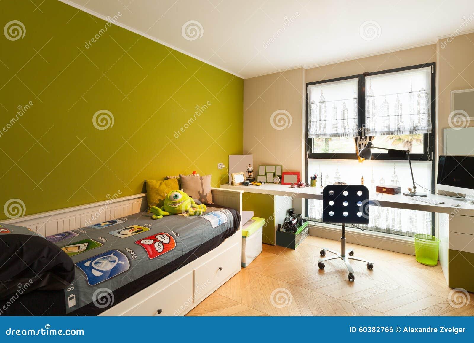 Bel appartement meublé, chambre à coucher