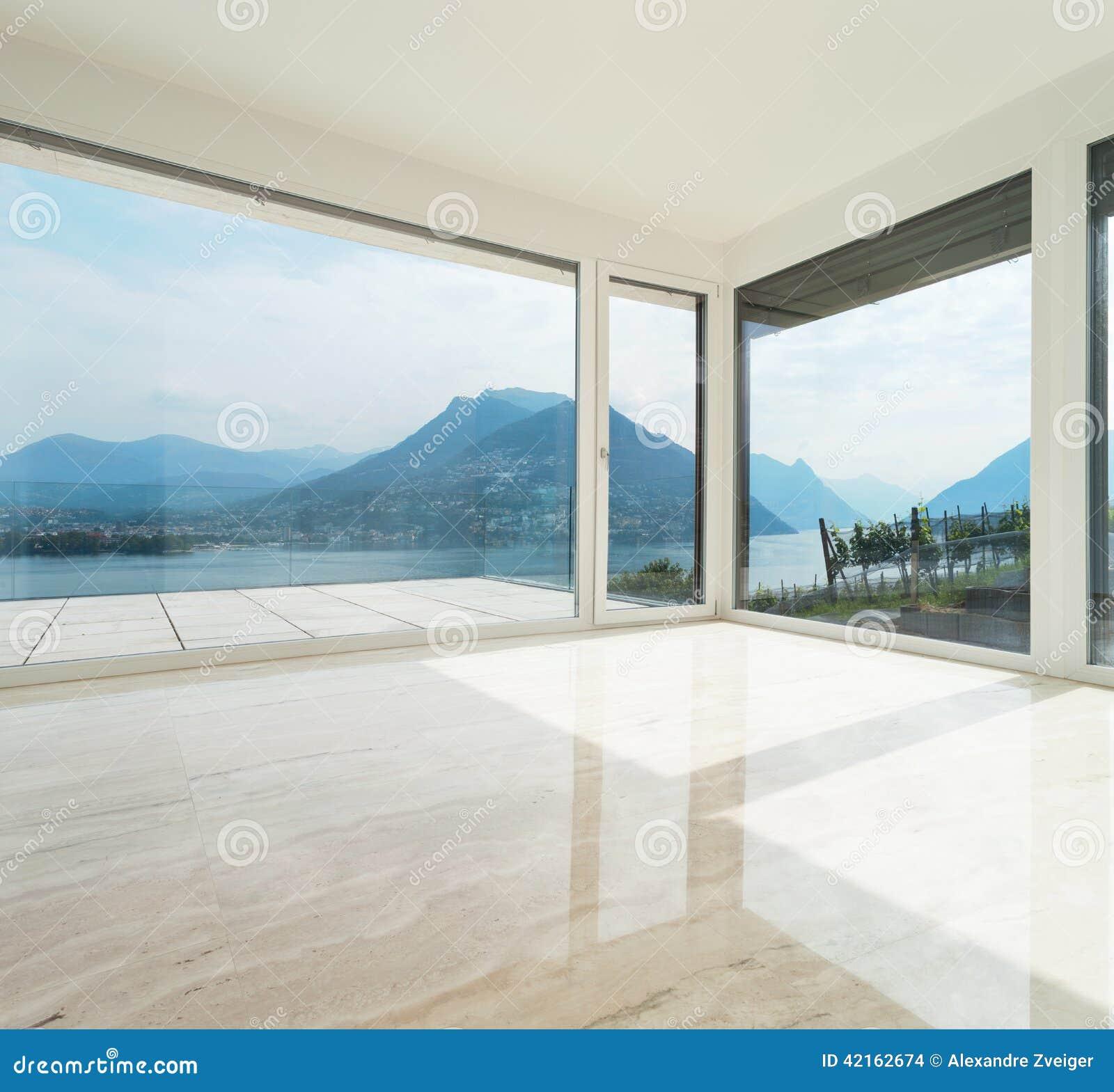 Bel appartement terrasse salon vide photo stock image - Spa terrasse appartement ...