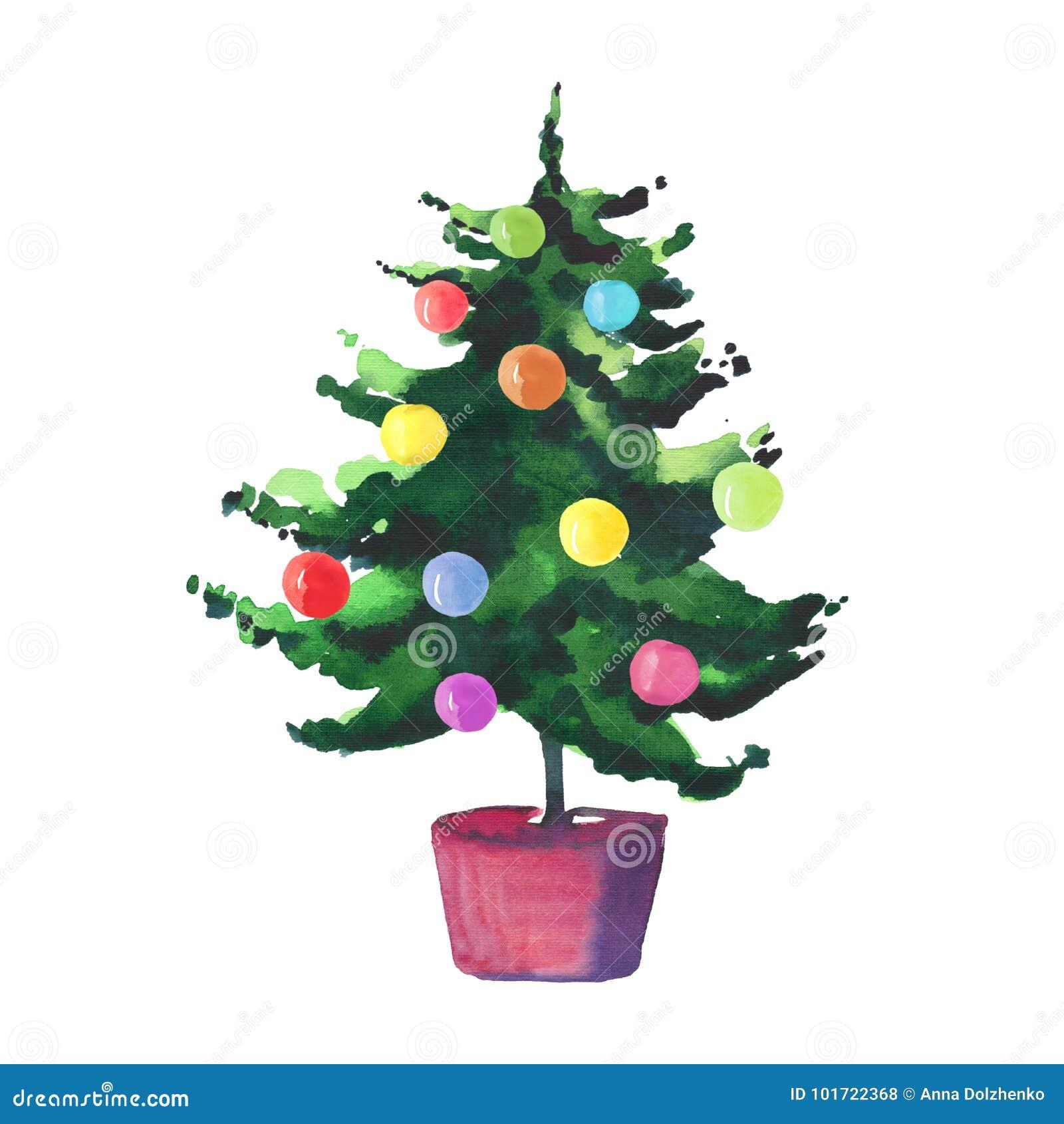 Arbre En Pot Hiver bel arbre lumineux merveilleux artistique de sapin de vert d