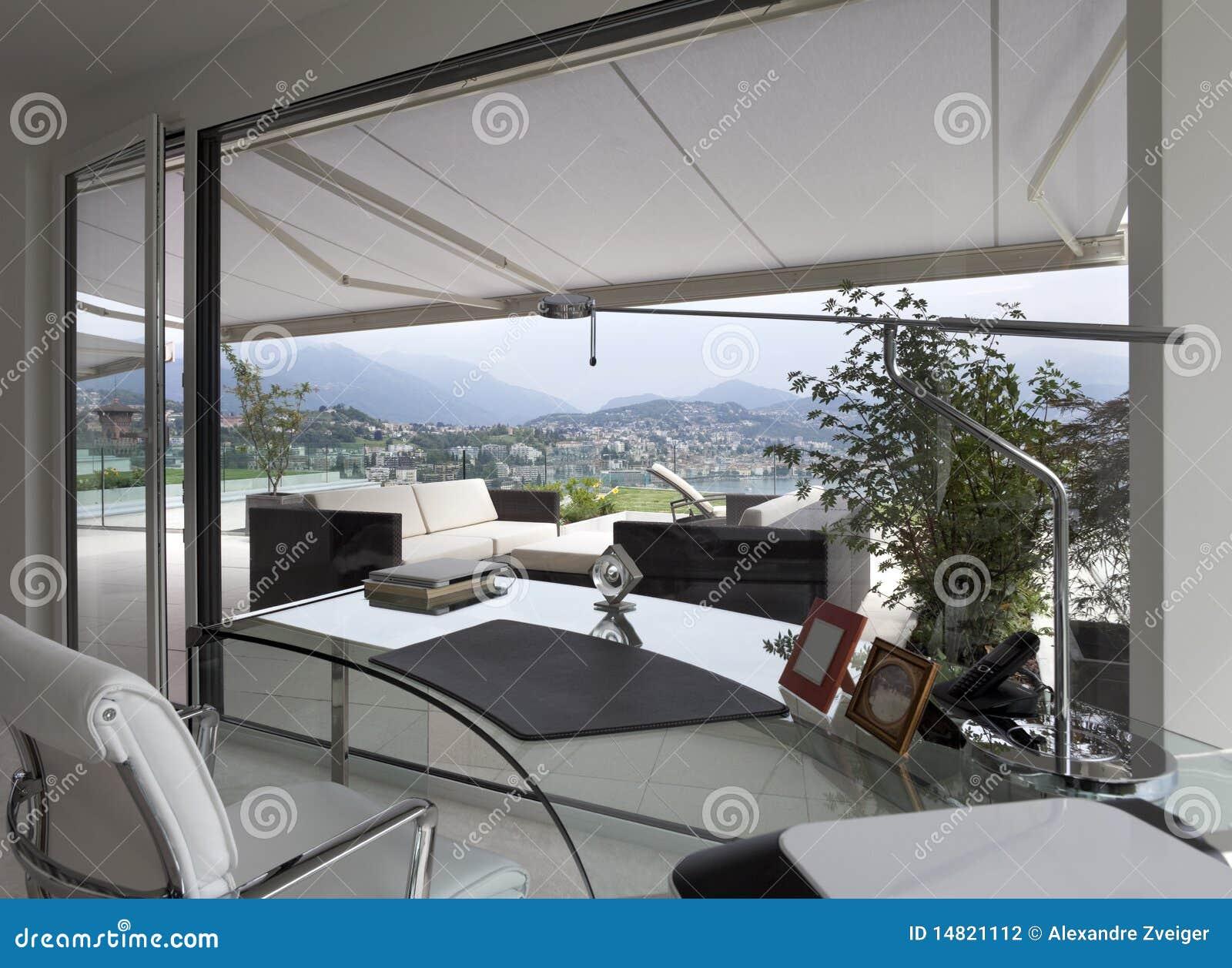 Bel int rieur d 39 une maison moderne photographie stock image 14821112 - Interieur d une maison ...