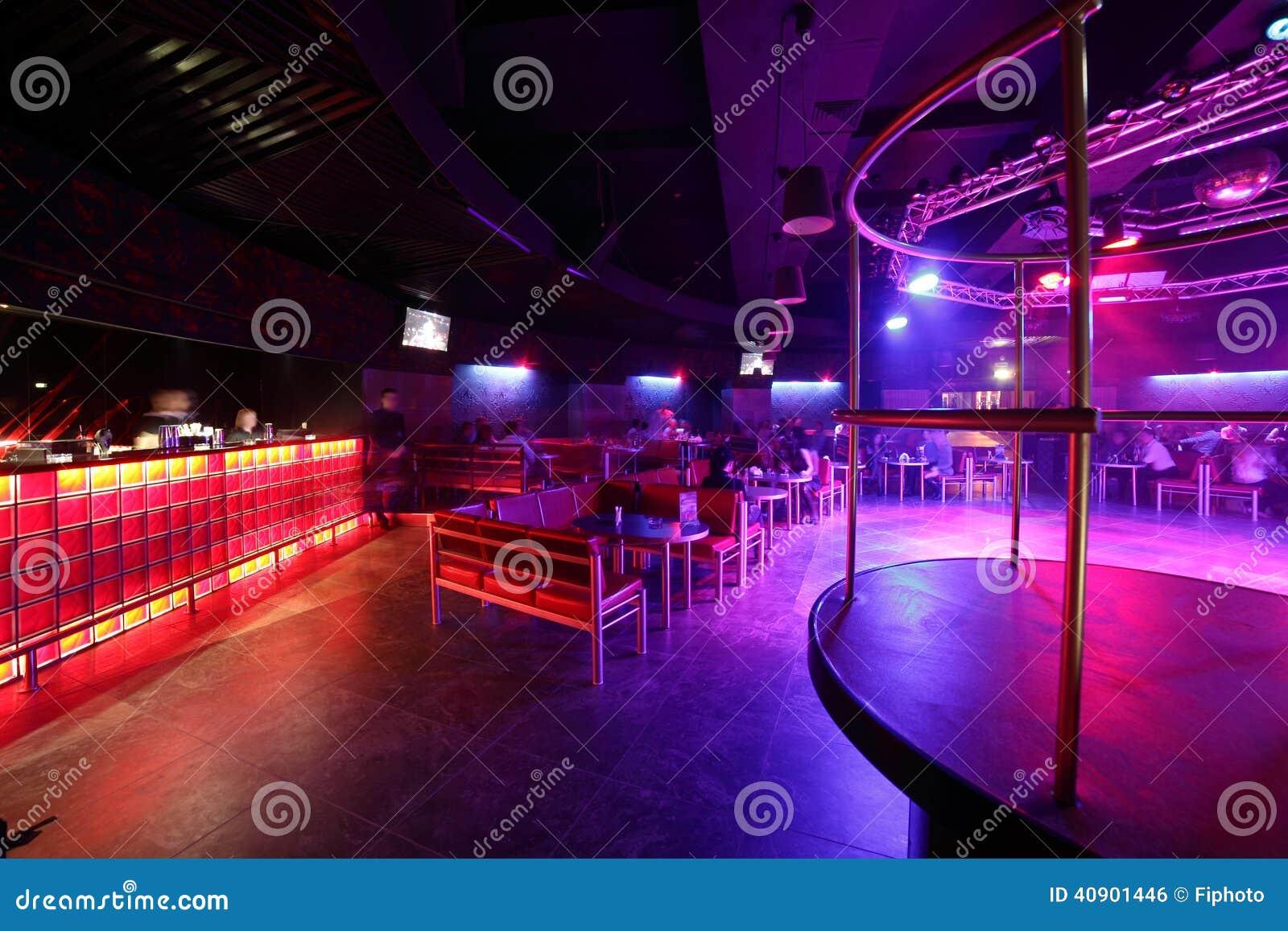 Bel int rieur europ en de bo te de nuit photo stock image 40901446 - Interieur boite de nuit ...