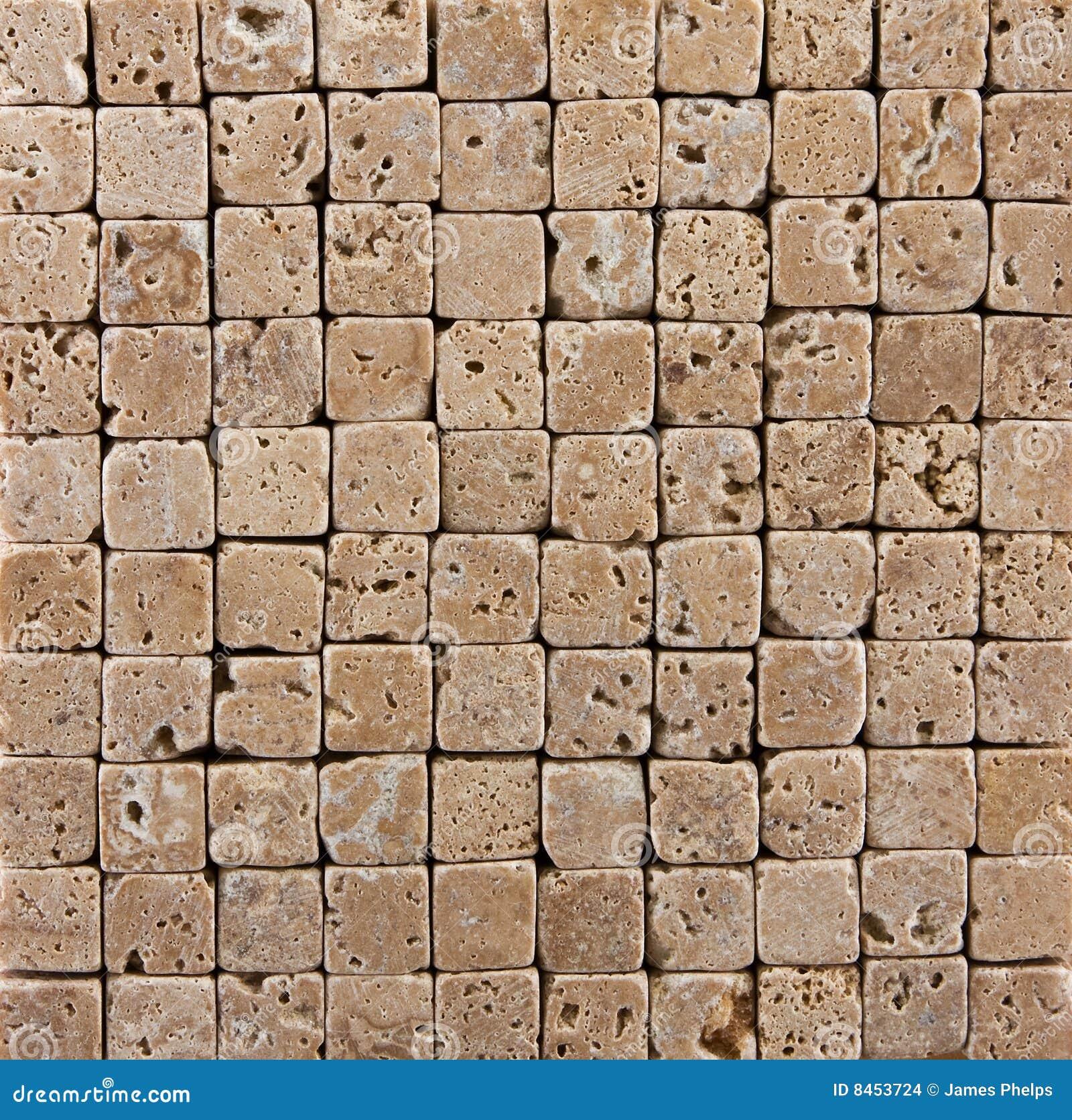 Belagd med tegel keramisk liten sten för bakgrundstegelsten