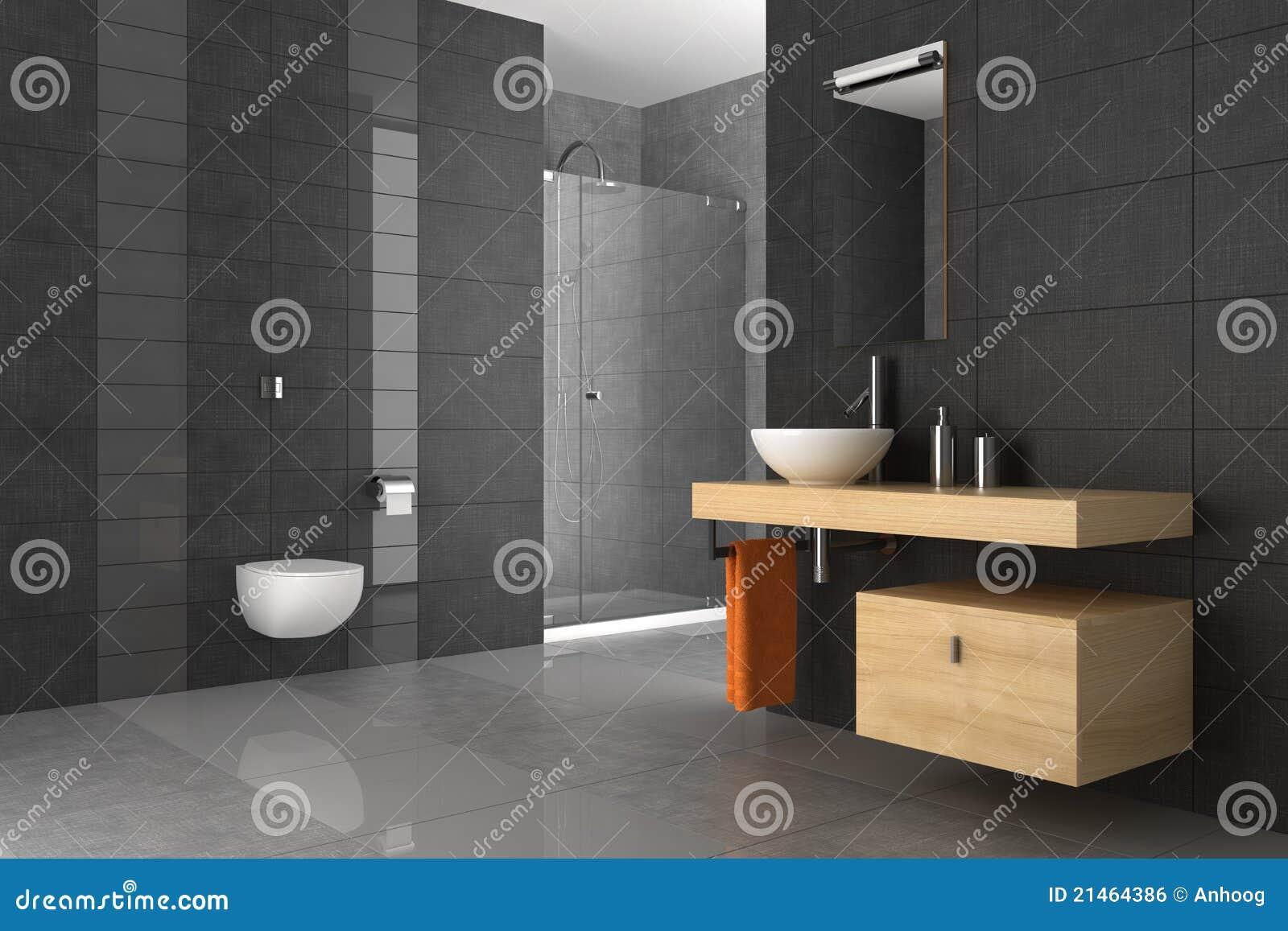 Belagt med tegel trä för badrum möblemang royaltyfri bild   bild ...