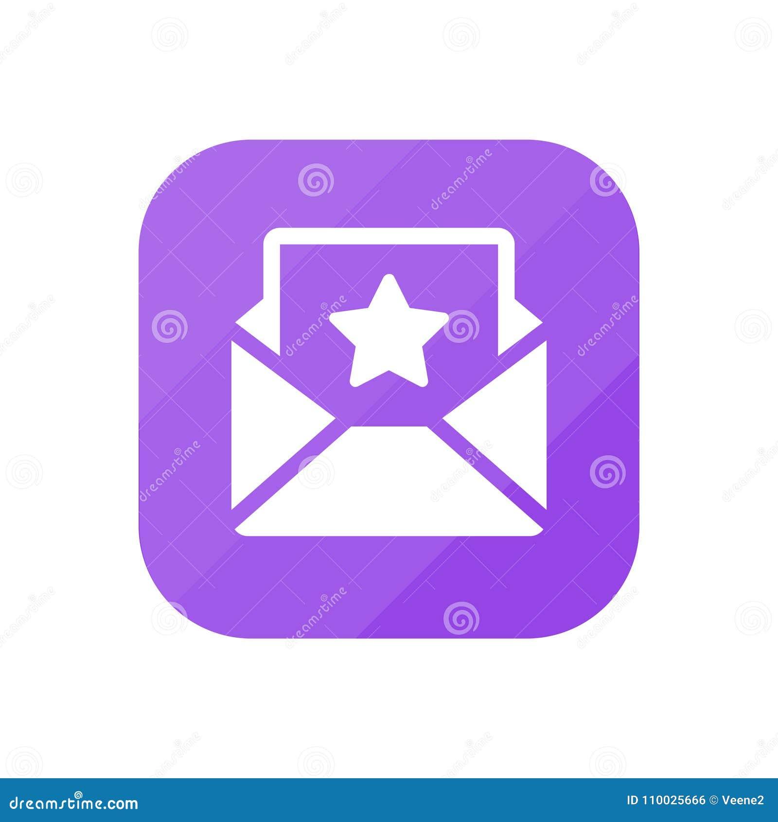 Belangrijke e-mail - App Pictogram